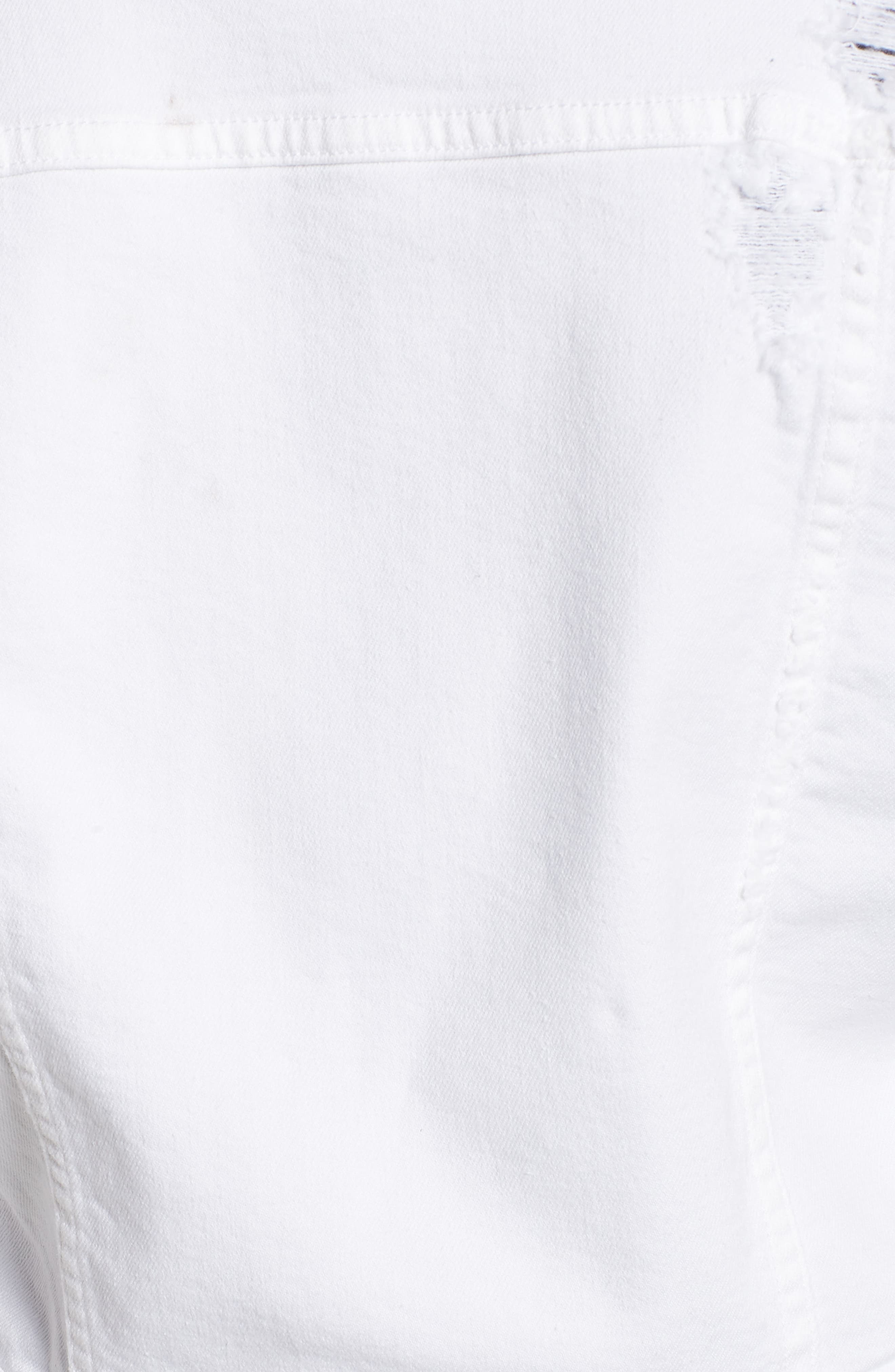 Dolman Crop Denim Jacket,                             Alternate thumbnail 6, color,                             Artemis
