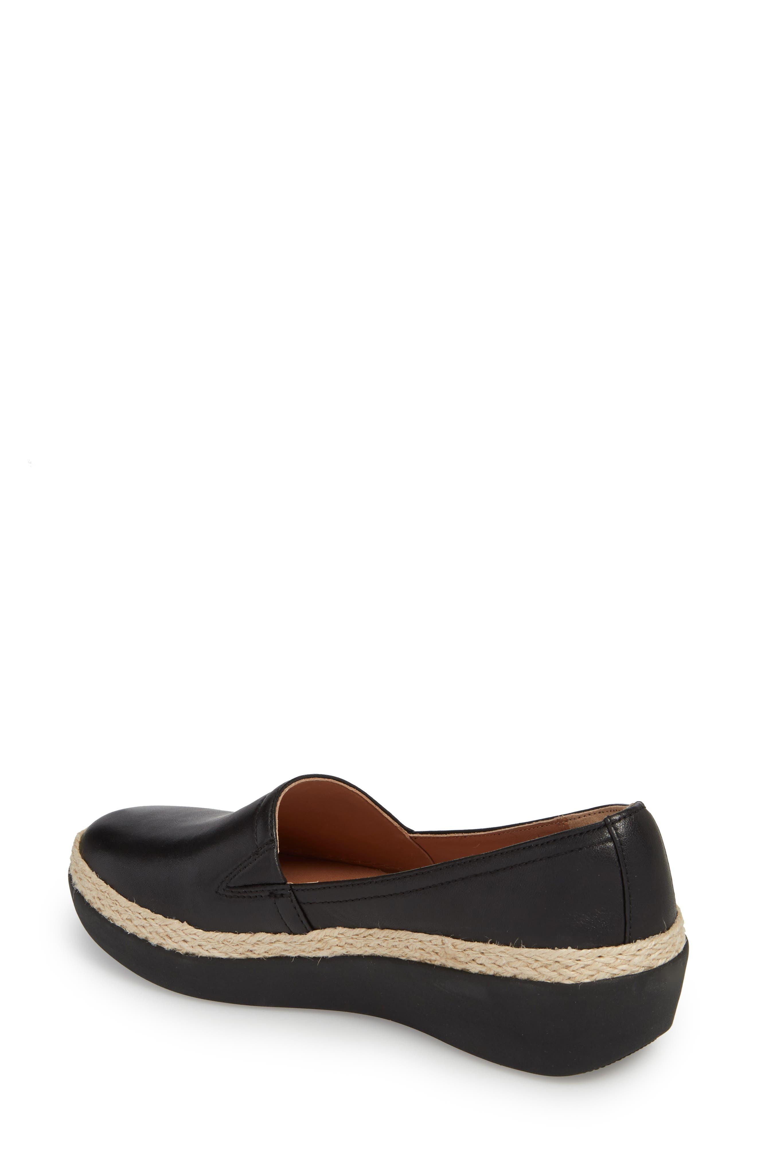 Casa Loafer,                             Alternate thumbnail 2, color,                             Black Leather