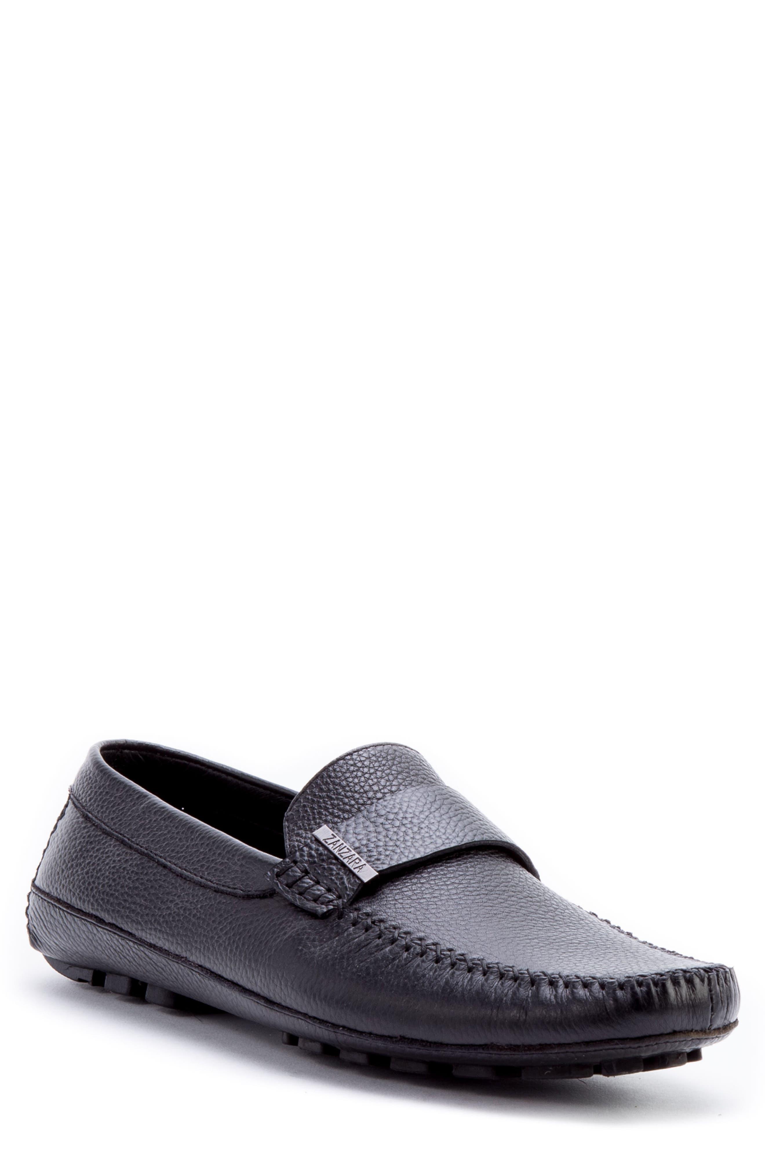Zanzara Men's Kandinsky Moc Toe Driving Loafer tzjAd