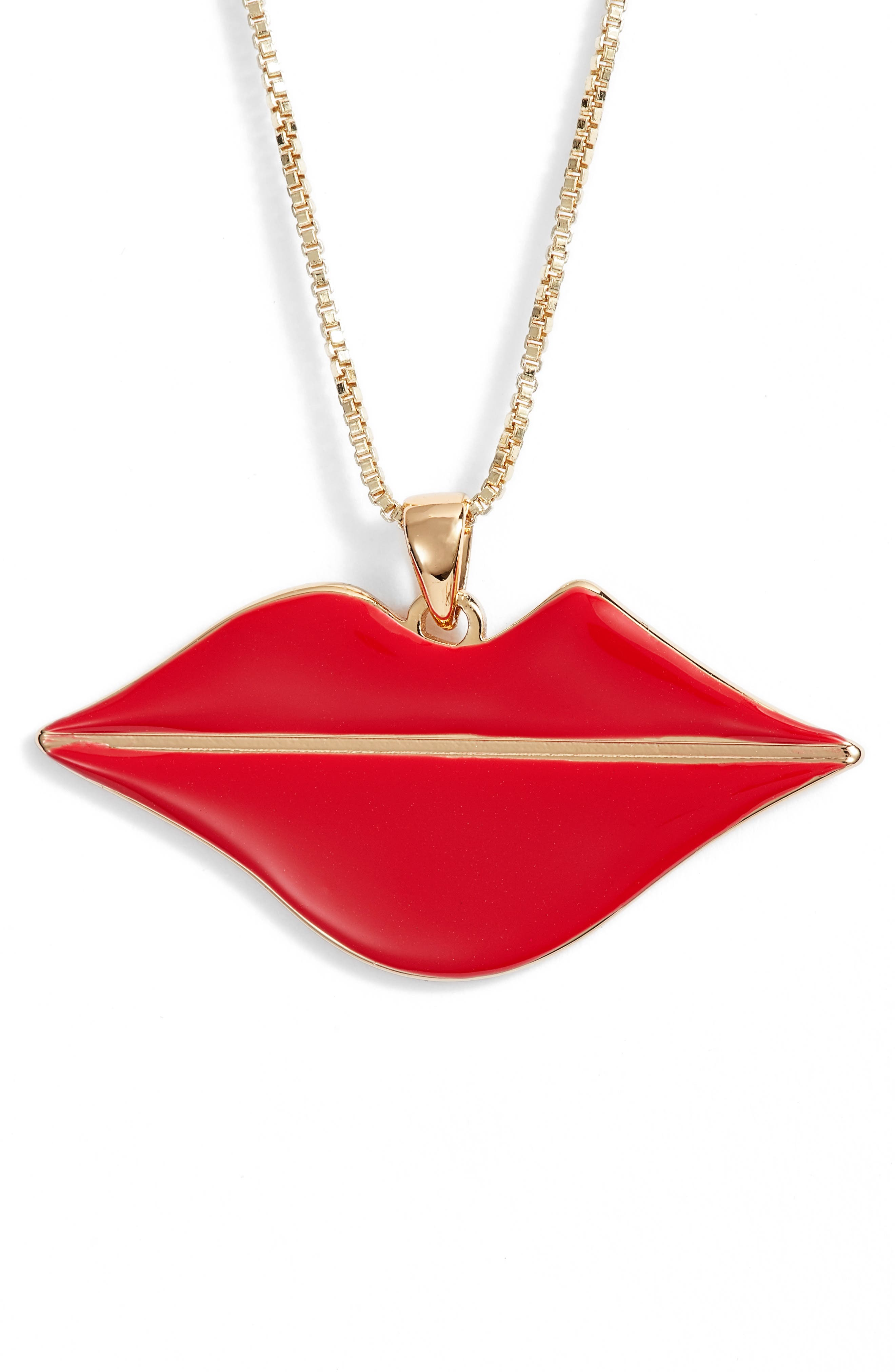 Jenny Bird La Bouche Pendant Necklace