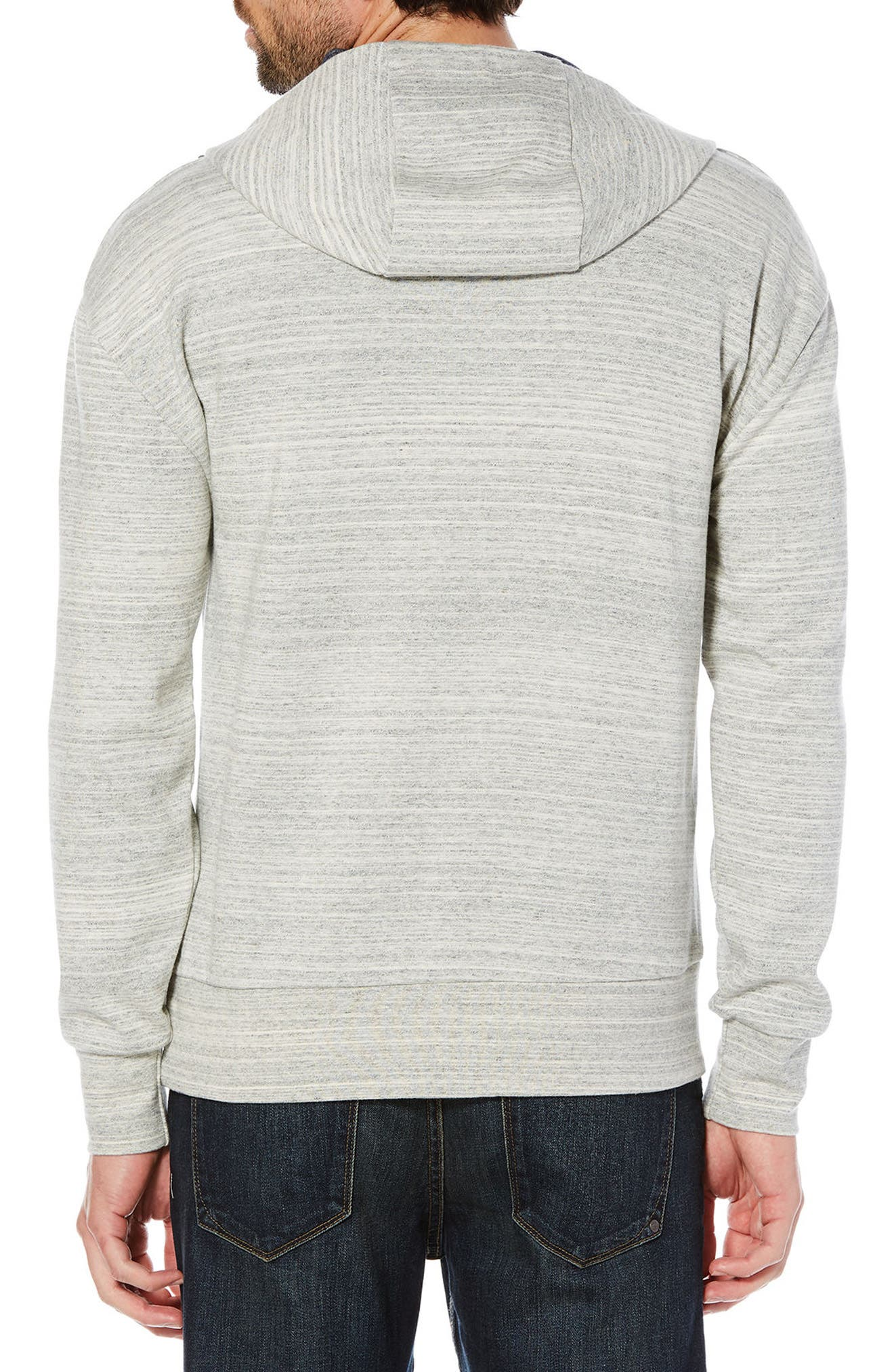 Hooded Sweater,                             Alternate thumbnail 2, color,                             Rain Heather