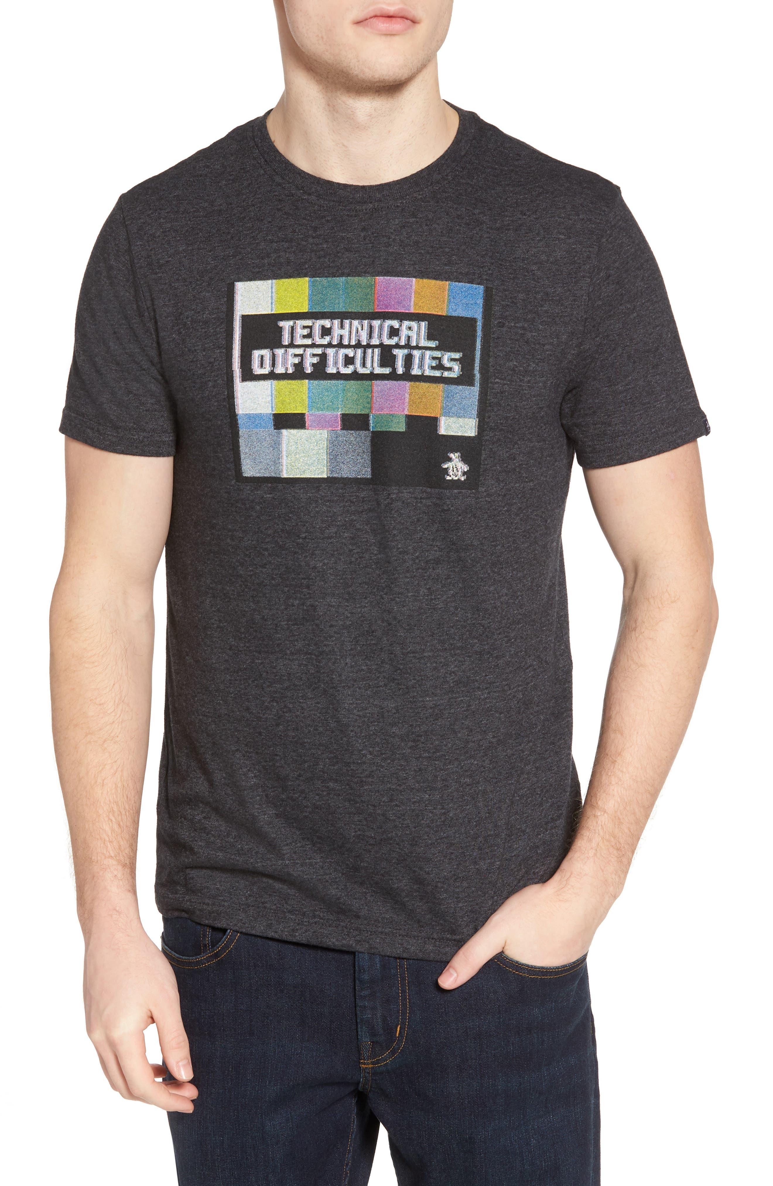 Original Penguin Technical Difficulties T-Shirt