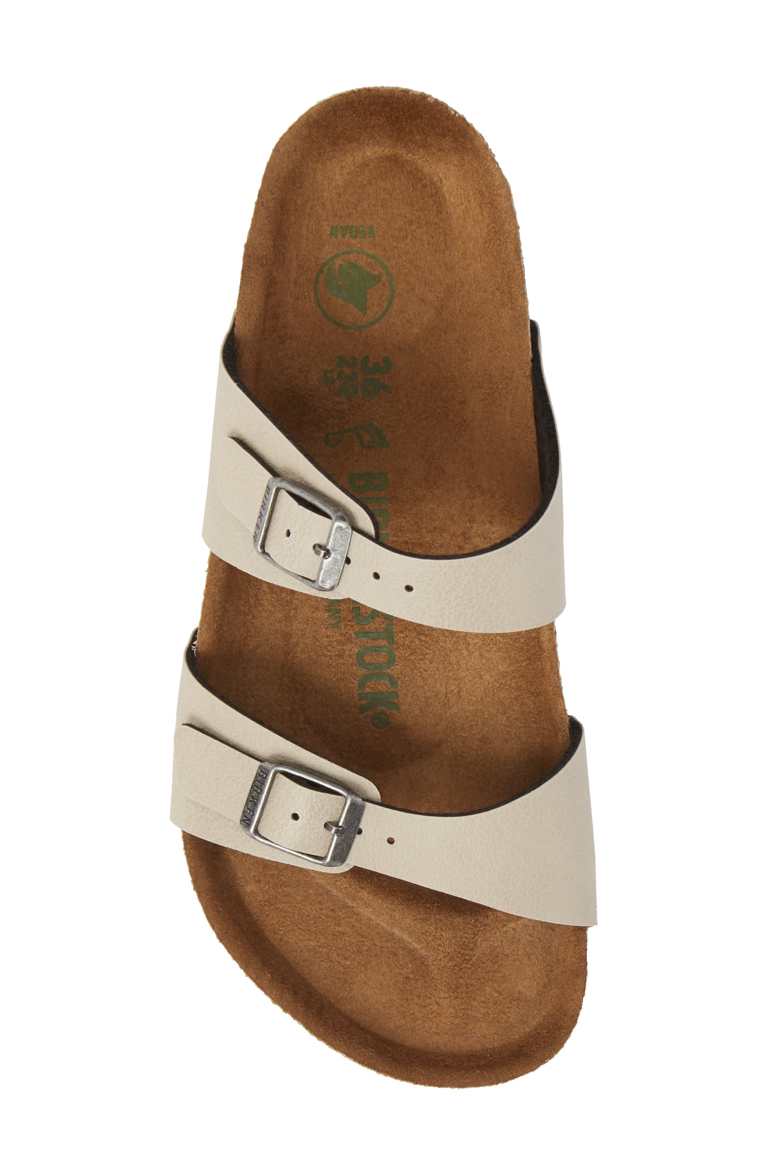 'Sydney' Sandal,                             Alternate thumbnail 5, color,                             Stone Leather