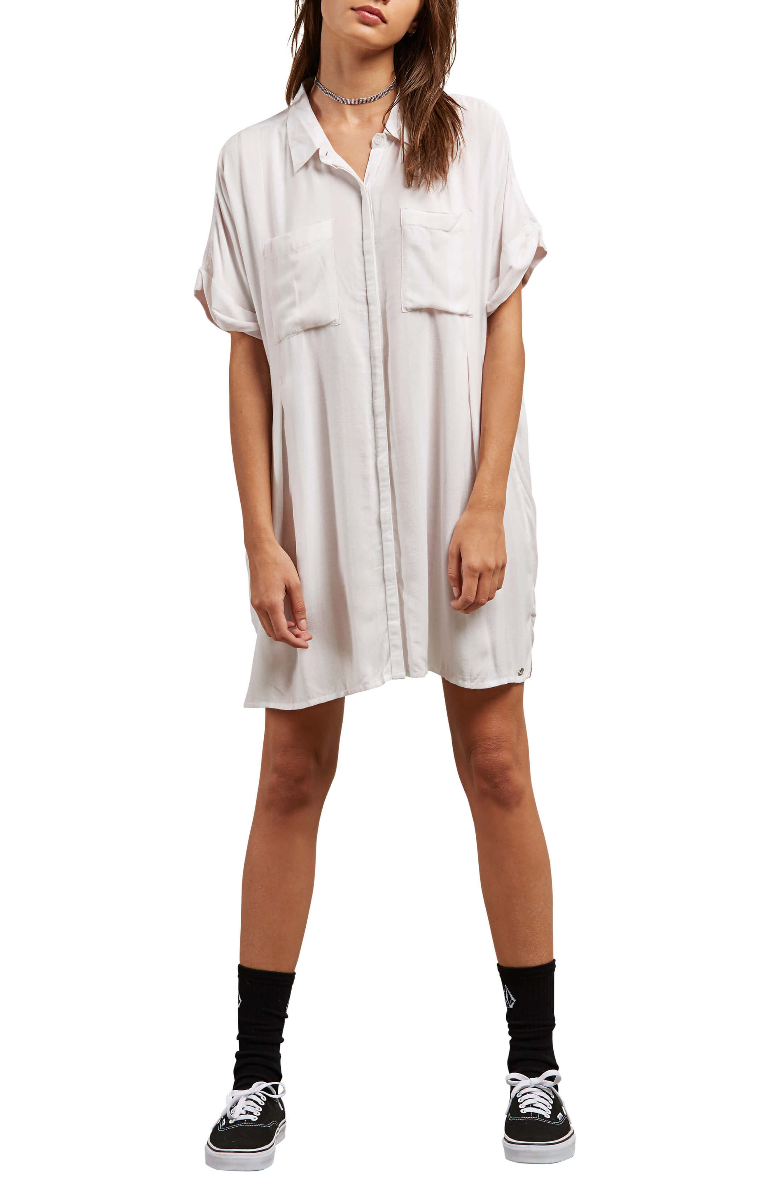 Sun Punch Shirt Dress,                         Main,                         color, Pink Light