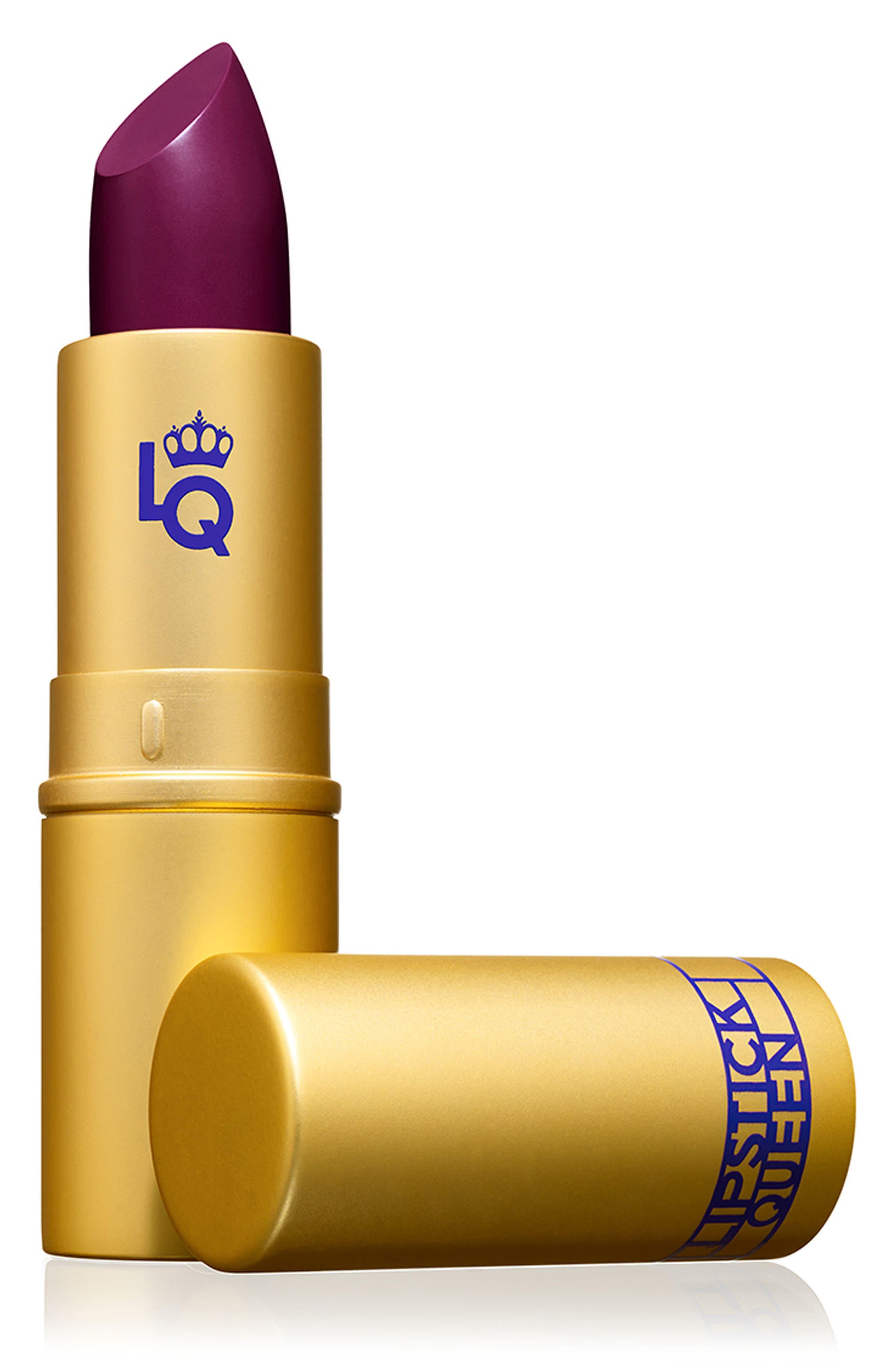 SPACE.NK.apothecary Lipstick Queen Saint Sheer Lipstick,                             Main thumbnail 1, color,                             Plum
