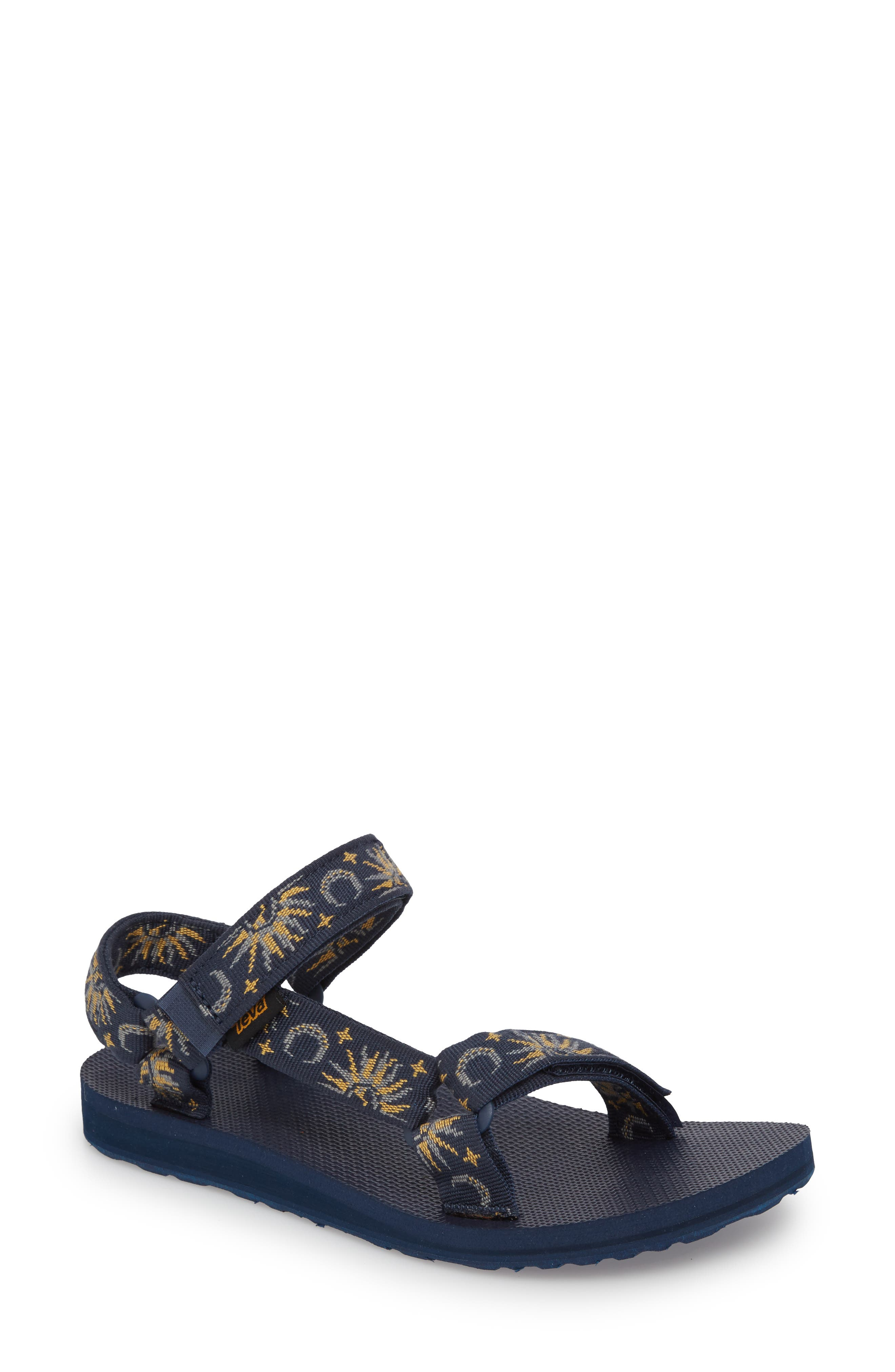 TEVA 'Original Universal' Sandal, Sun And Moon Insignia Blue