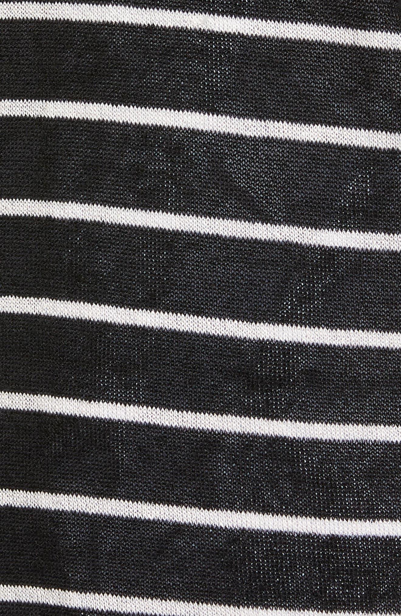 Alternate Image 5  - Halogen® Long Linen Blend Cardigan (Regular & Petite)