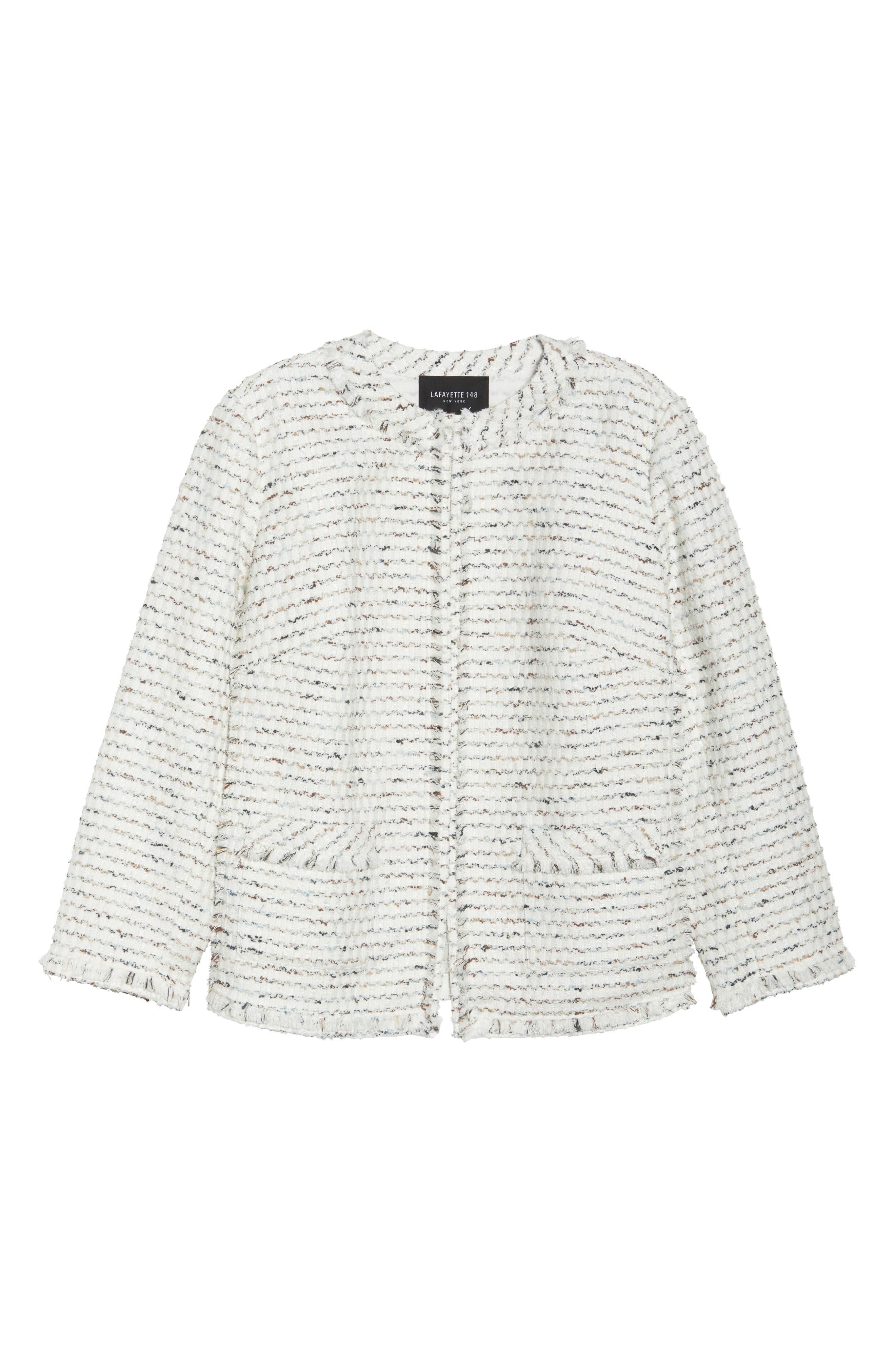Kennedy Tweed Jacket,                             Alternate thumbnail 6, color,                             Cloud Multi