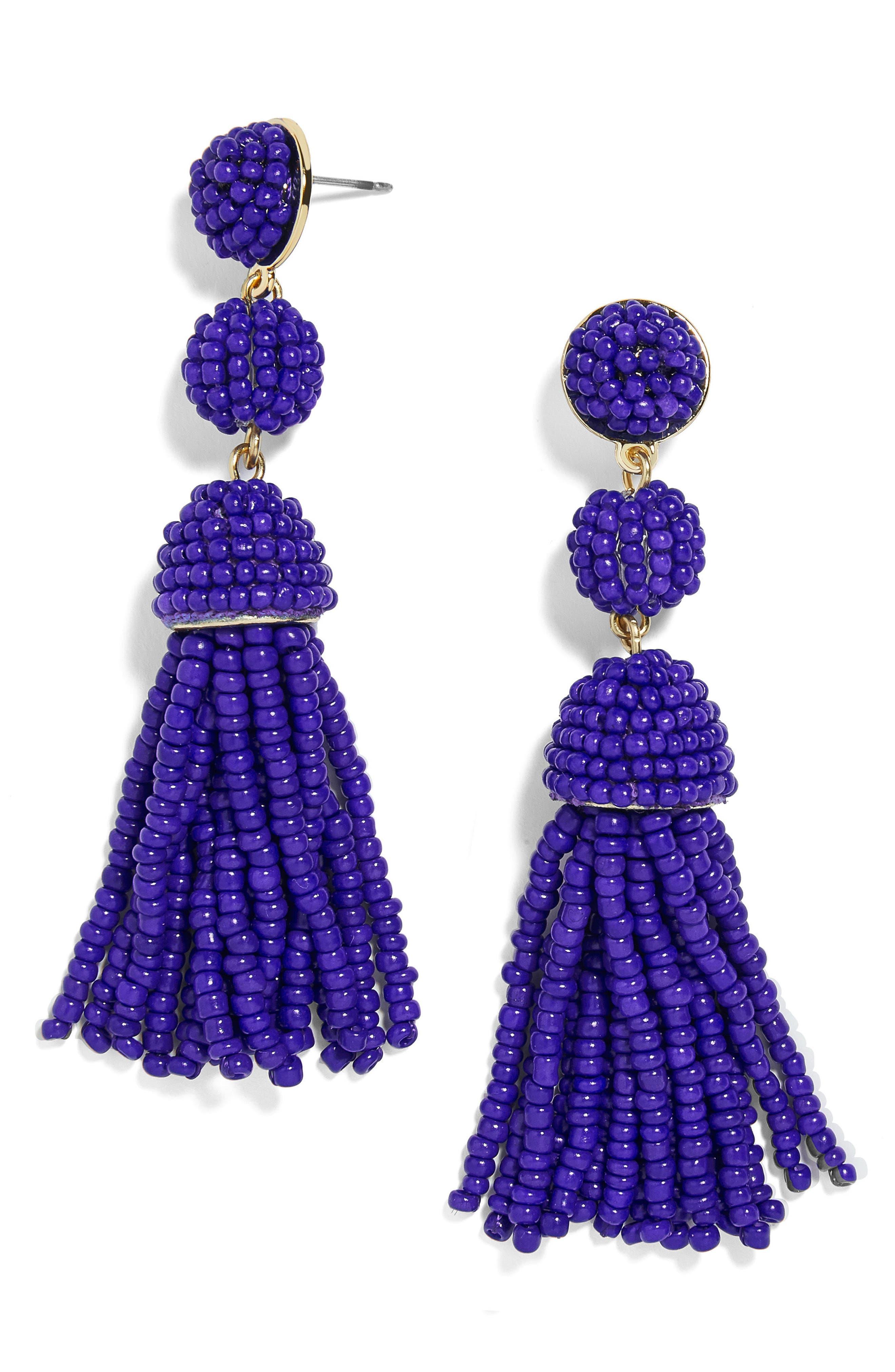 BaubleBar New Mini Granita Tassel Earrings