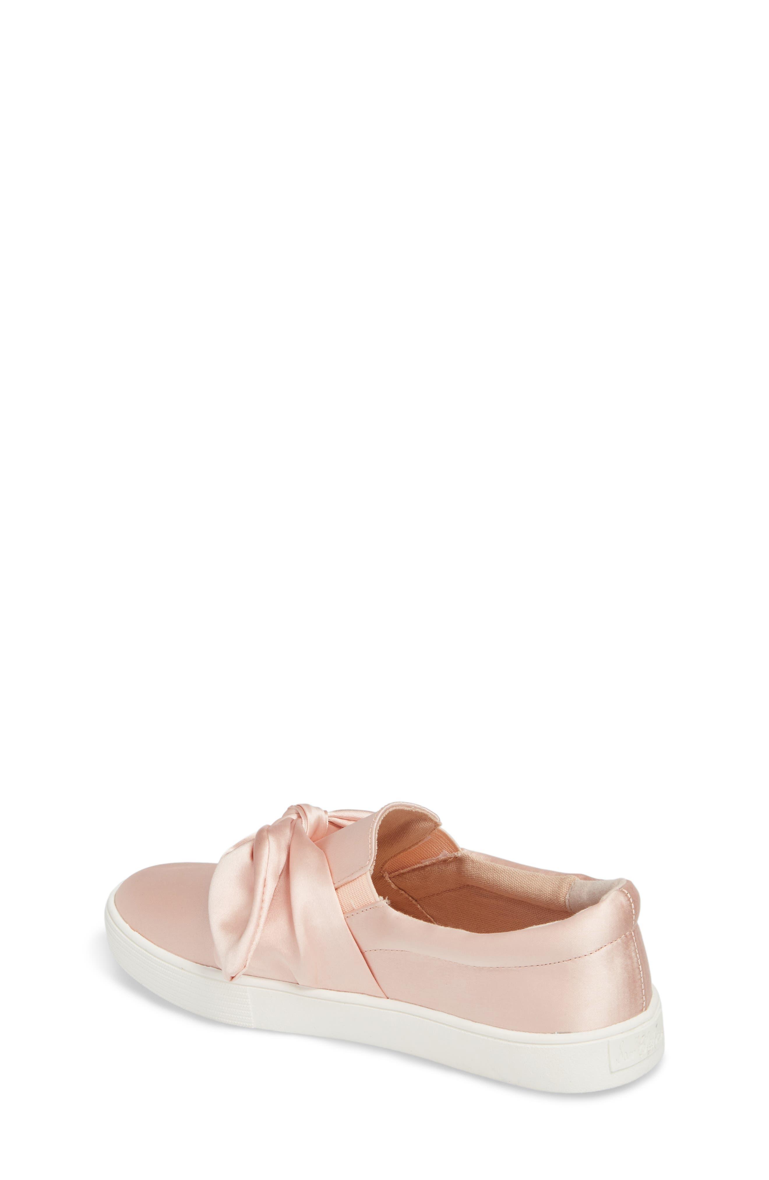 Bella Eden Slip-On Sneaker,                             Alternate thumbnail 2, color,                             Blush Satin