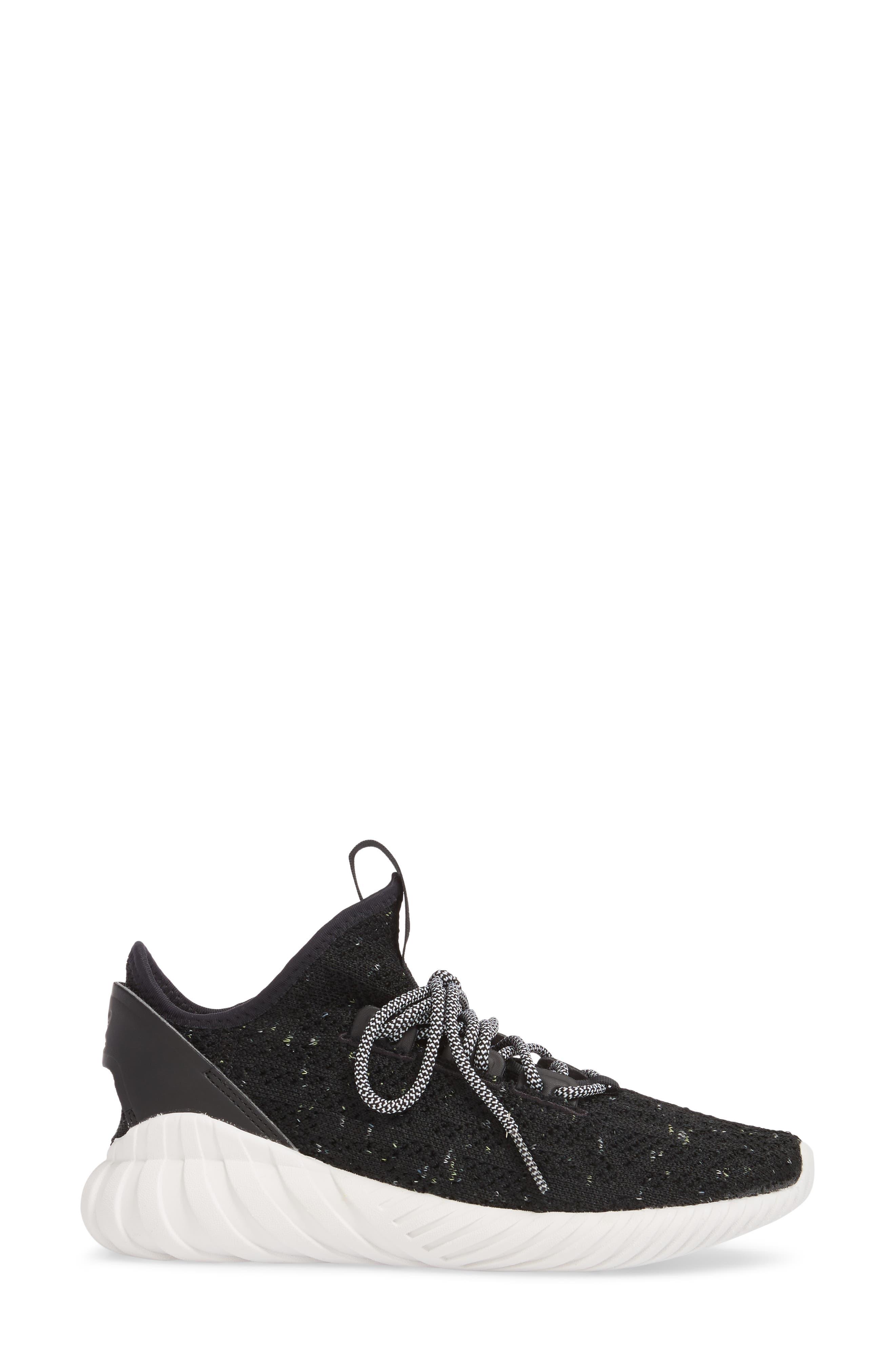 Alternate Image 3  - adidas Tubular Doom Sock Primeknit Sneaker (Women)