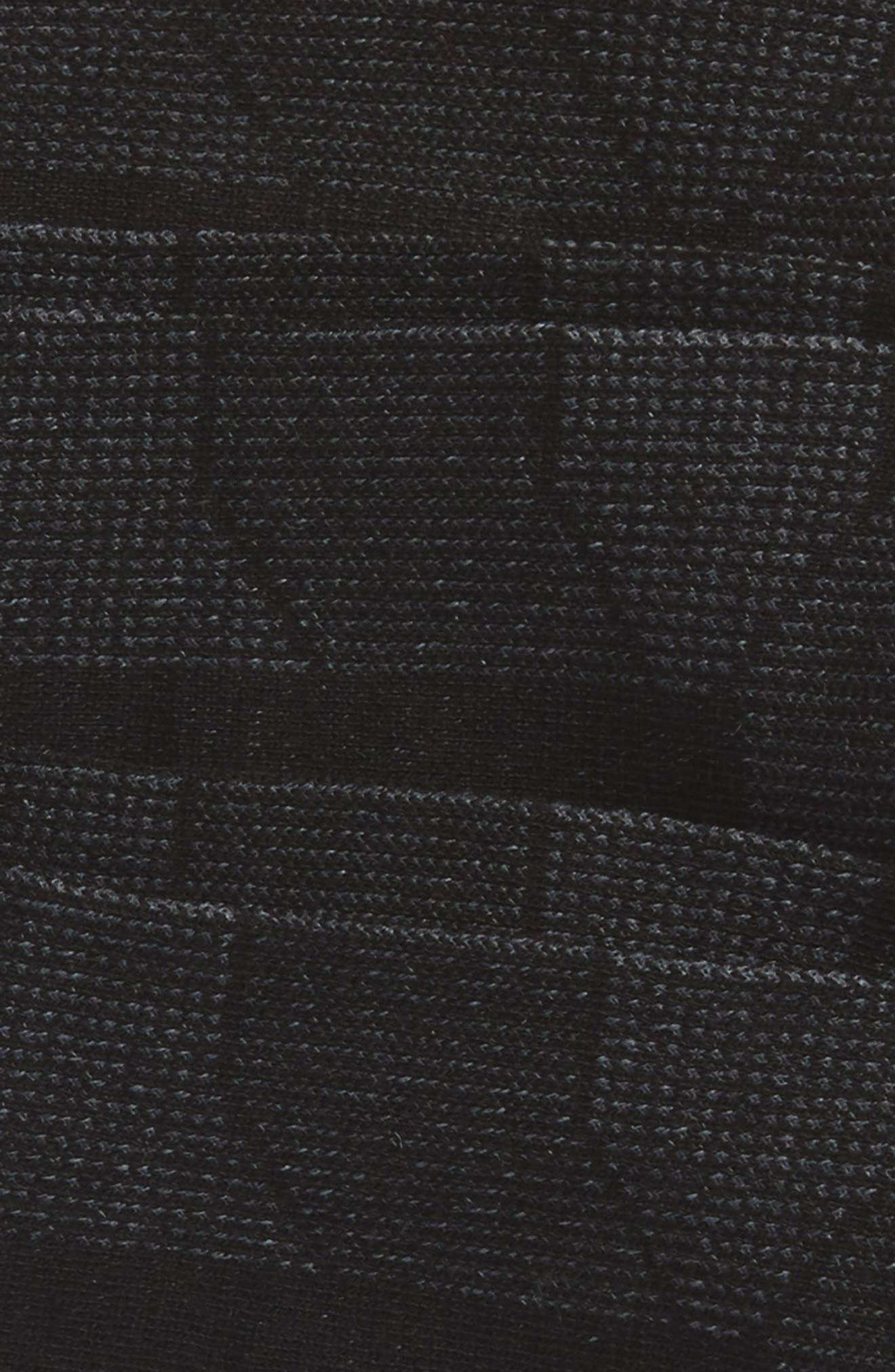 Prime Mesh I 3-Pack Socks,                             Alternate thumbnail 2, color,                             Black