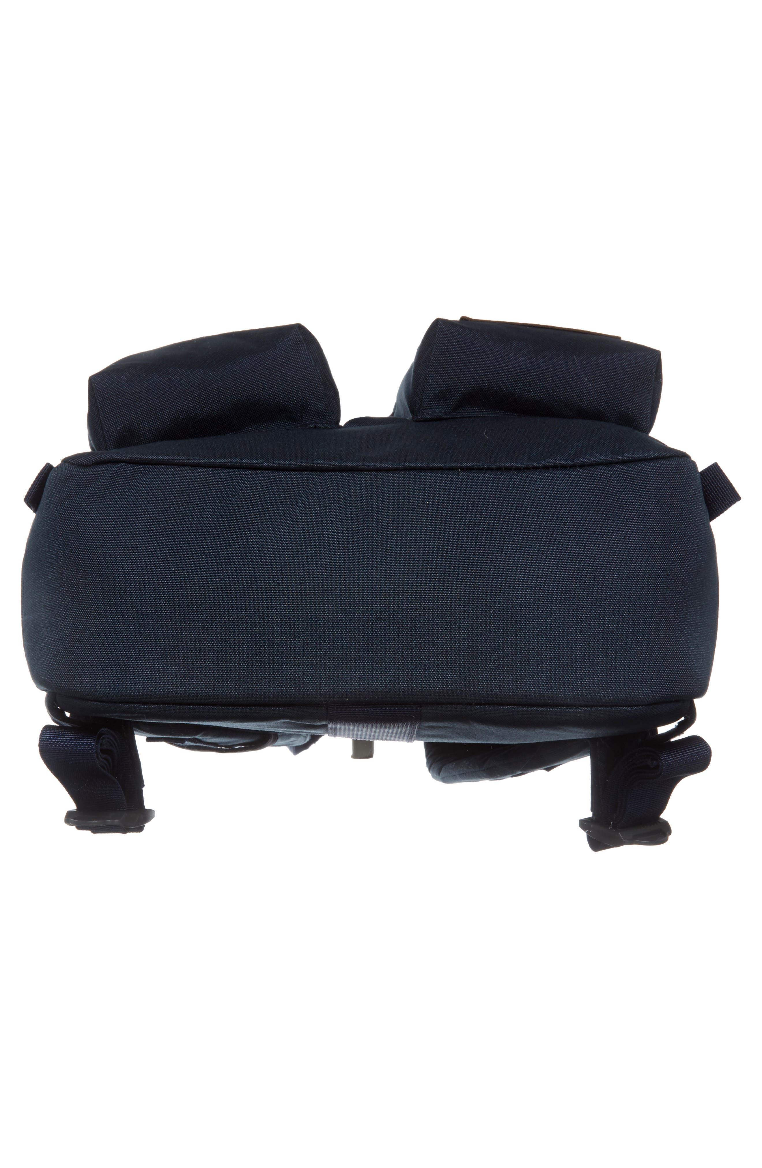 Mini Crevasse Backpack,                             Alternate thumbnail 4, color,                             Urban Navy Heather/ Urban Navy