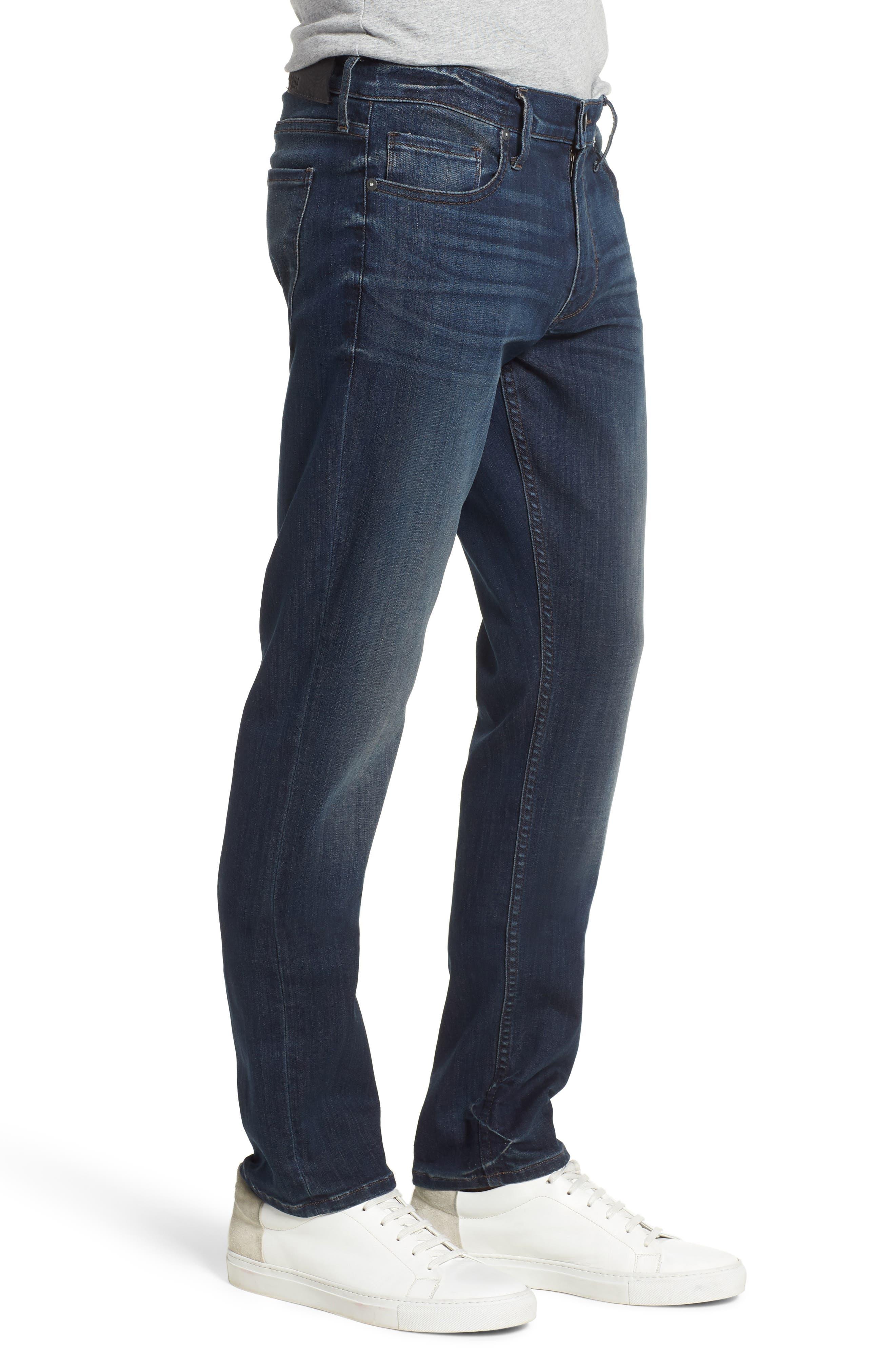 Transcend - Lennox Slim Fit Jeans,                             Alternate thumbnail 3, color,                             Freeman
