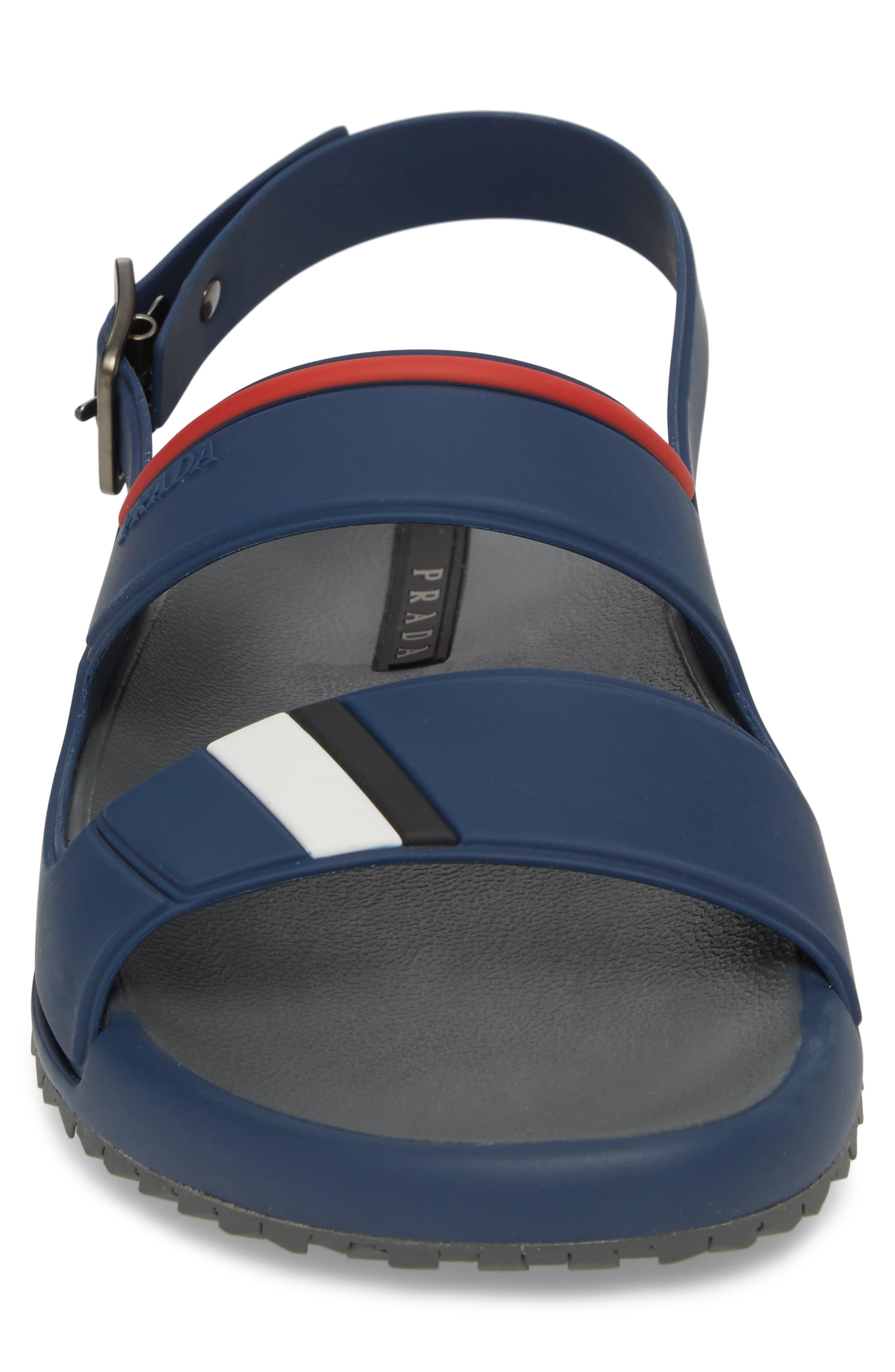 Alternate Image 4  - Prada Linea Rossa Sandal (Men)