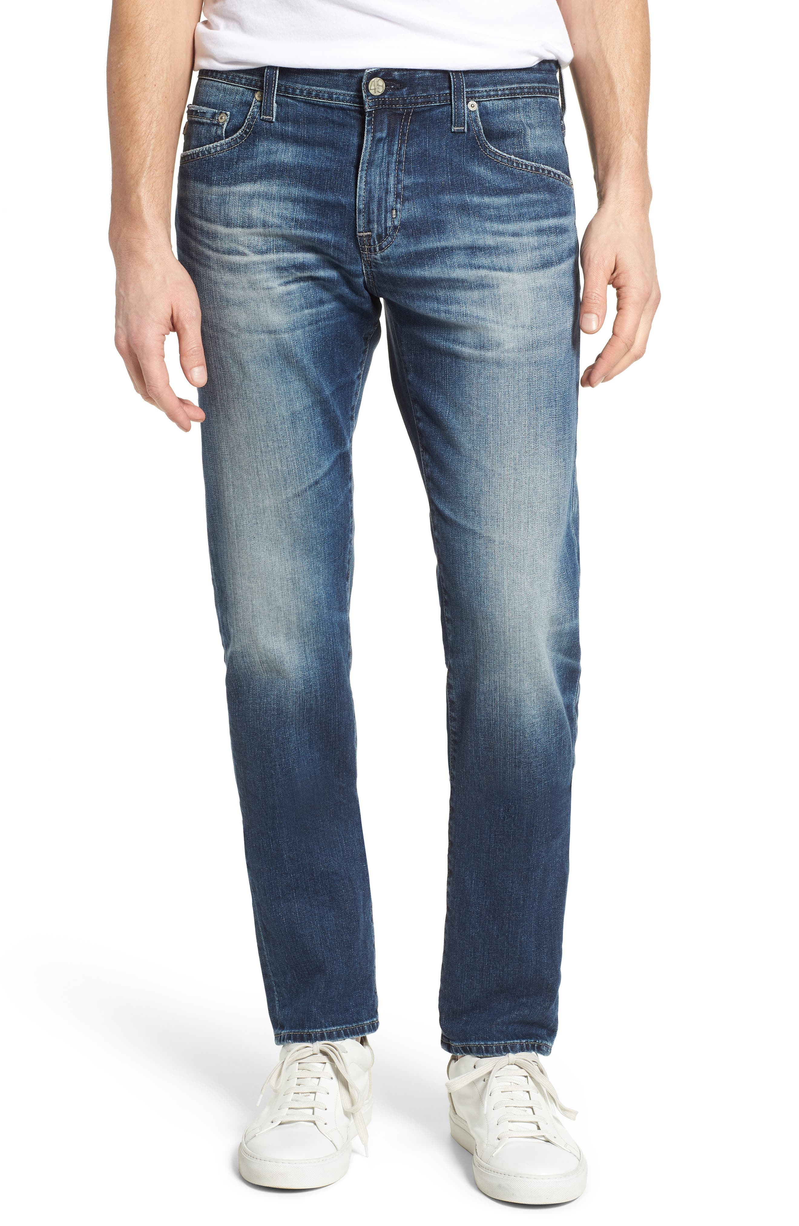 Tellis Slim Fit Jeans,                             Main thumbnail 1, color,                             12 Years Mavericks
