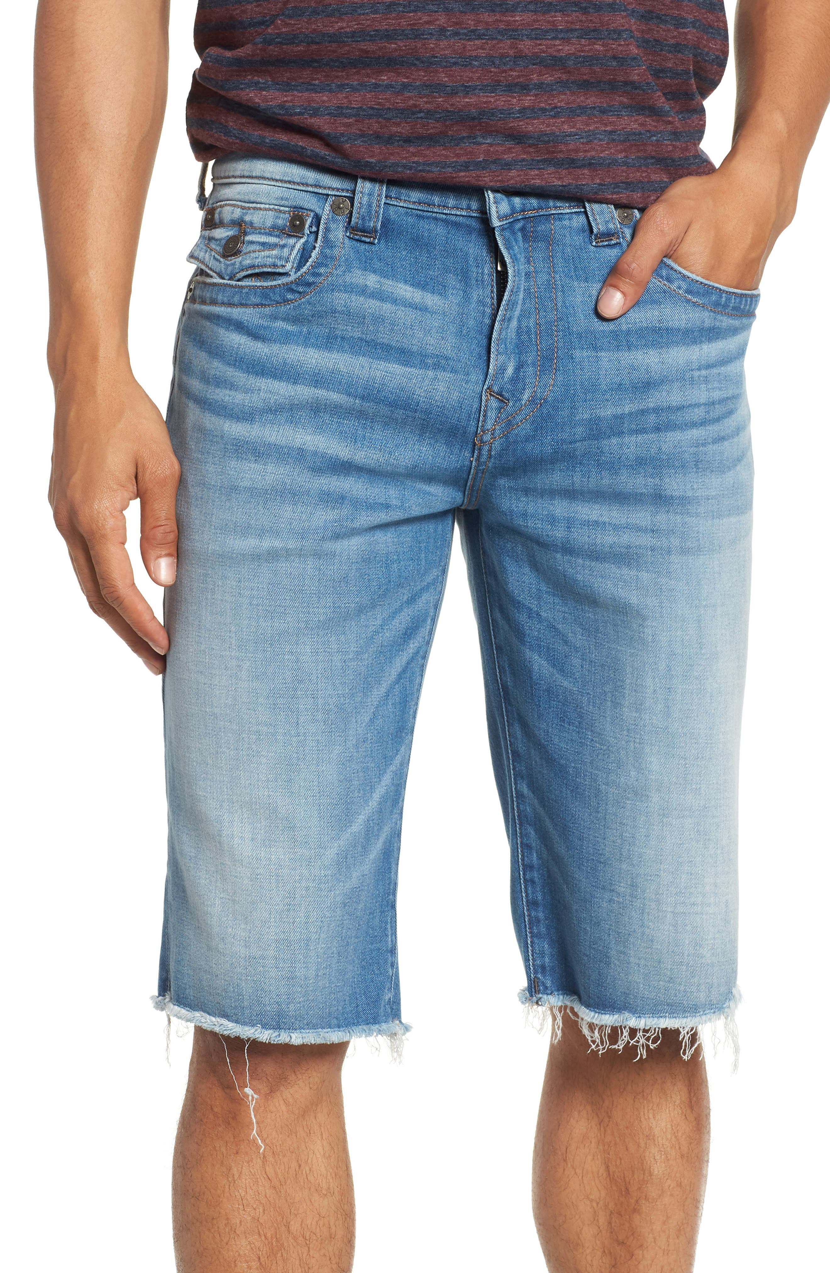 Main Image - True Religion Brand Jeans Ricky Flap Pocket Shorts