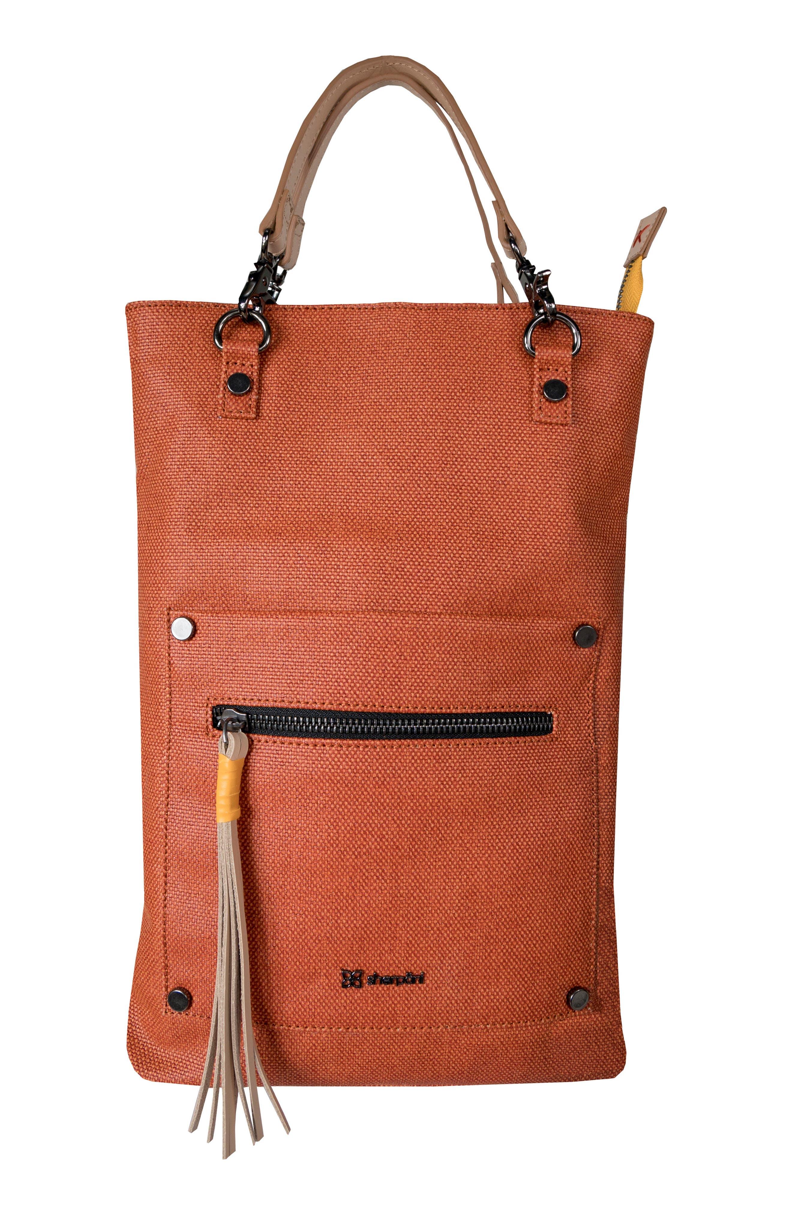 Rebel Coated Canvas Crossbody Bag,                             Alternate thumbnail 5, color,                             Copper