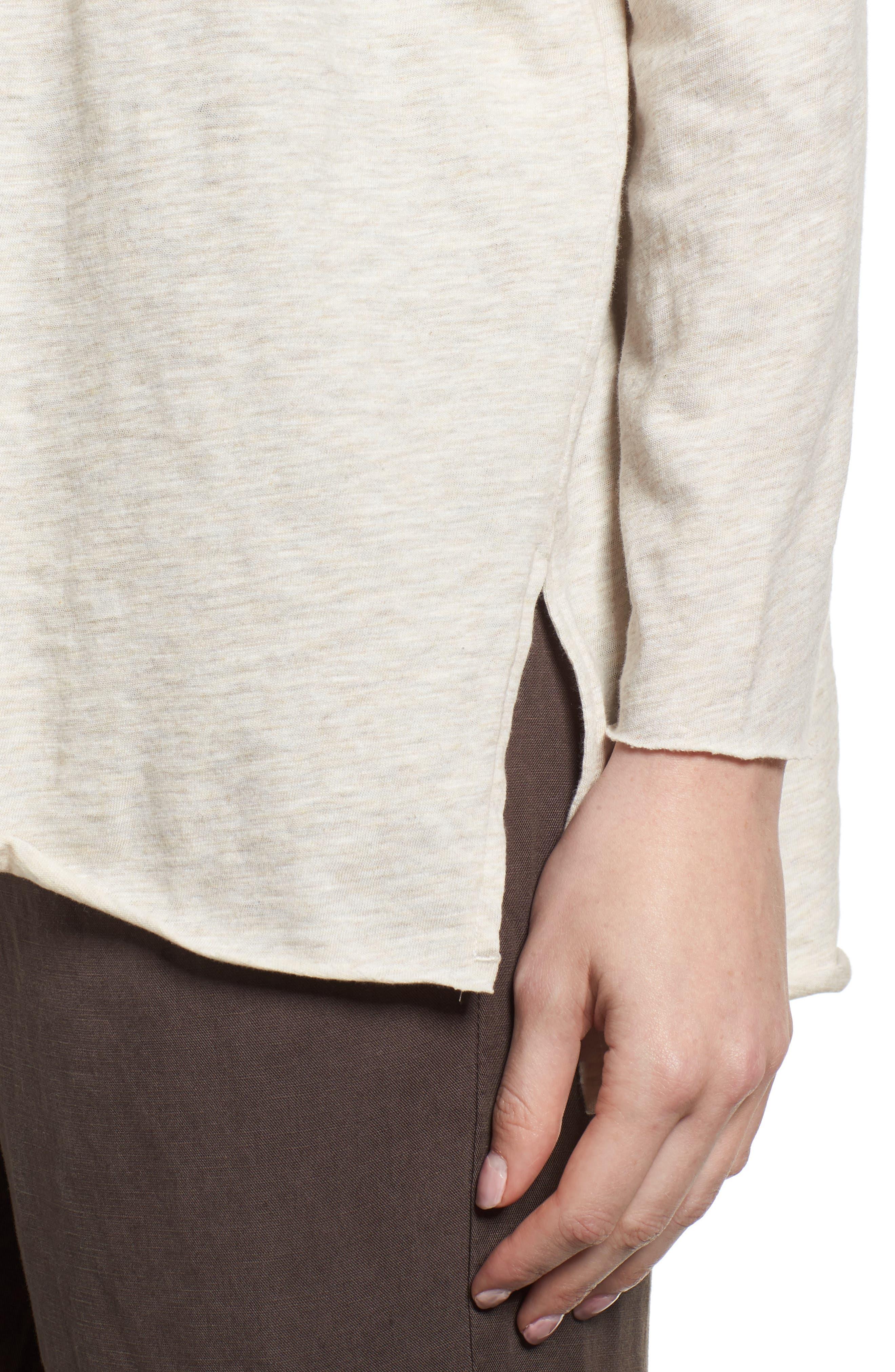 Organic Cotton Tunic,                             Alternate thumbnail 4, color,                             Natural