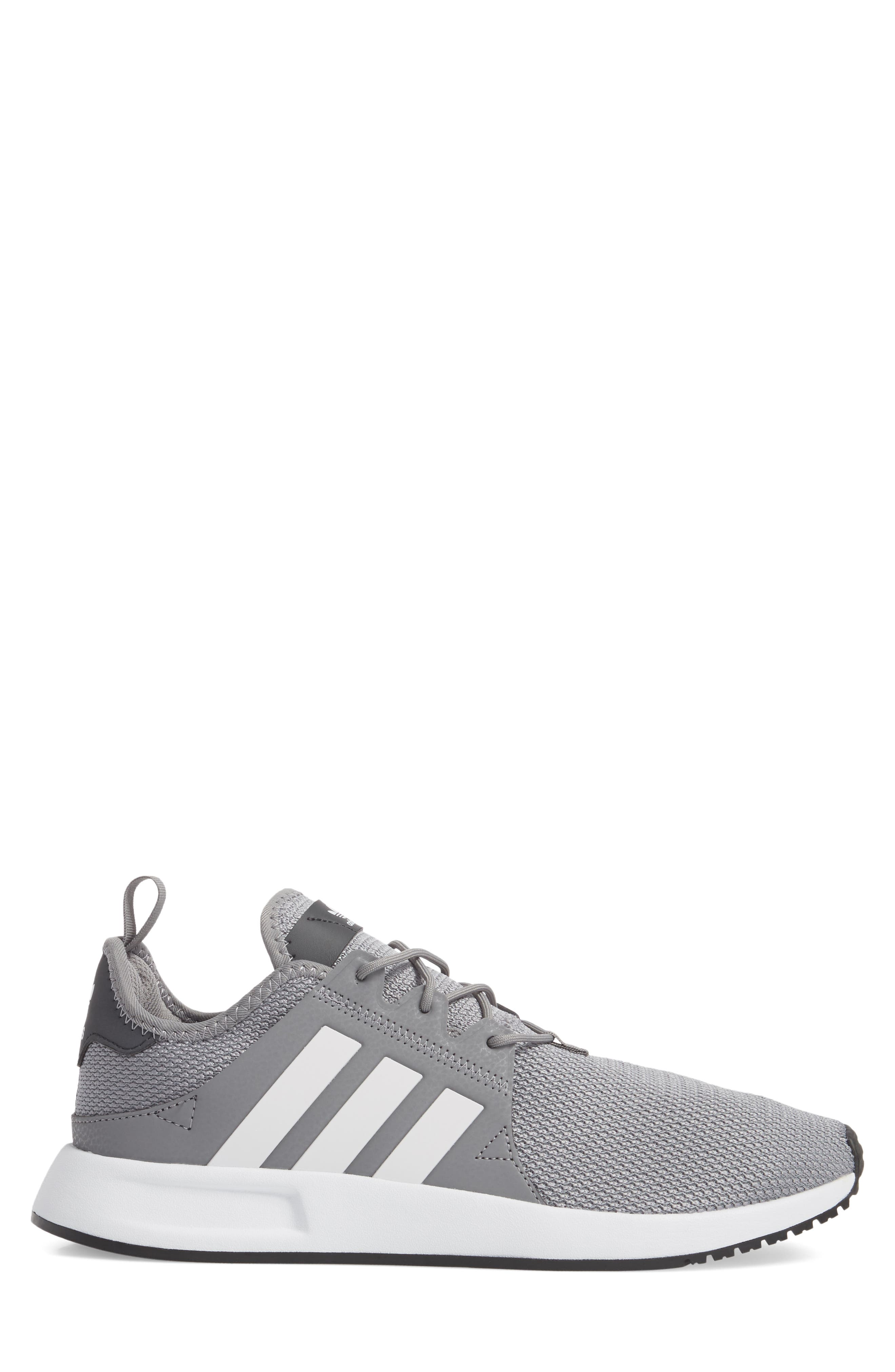 X_PLR Sneaker,                             Alternate thumbnail 3, color,                             Grey/ White/ Carbon