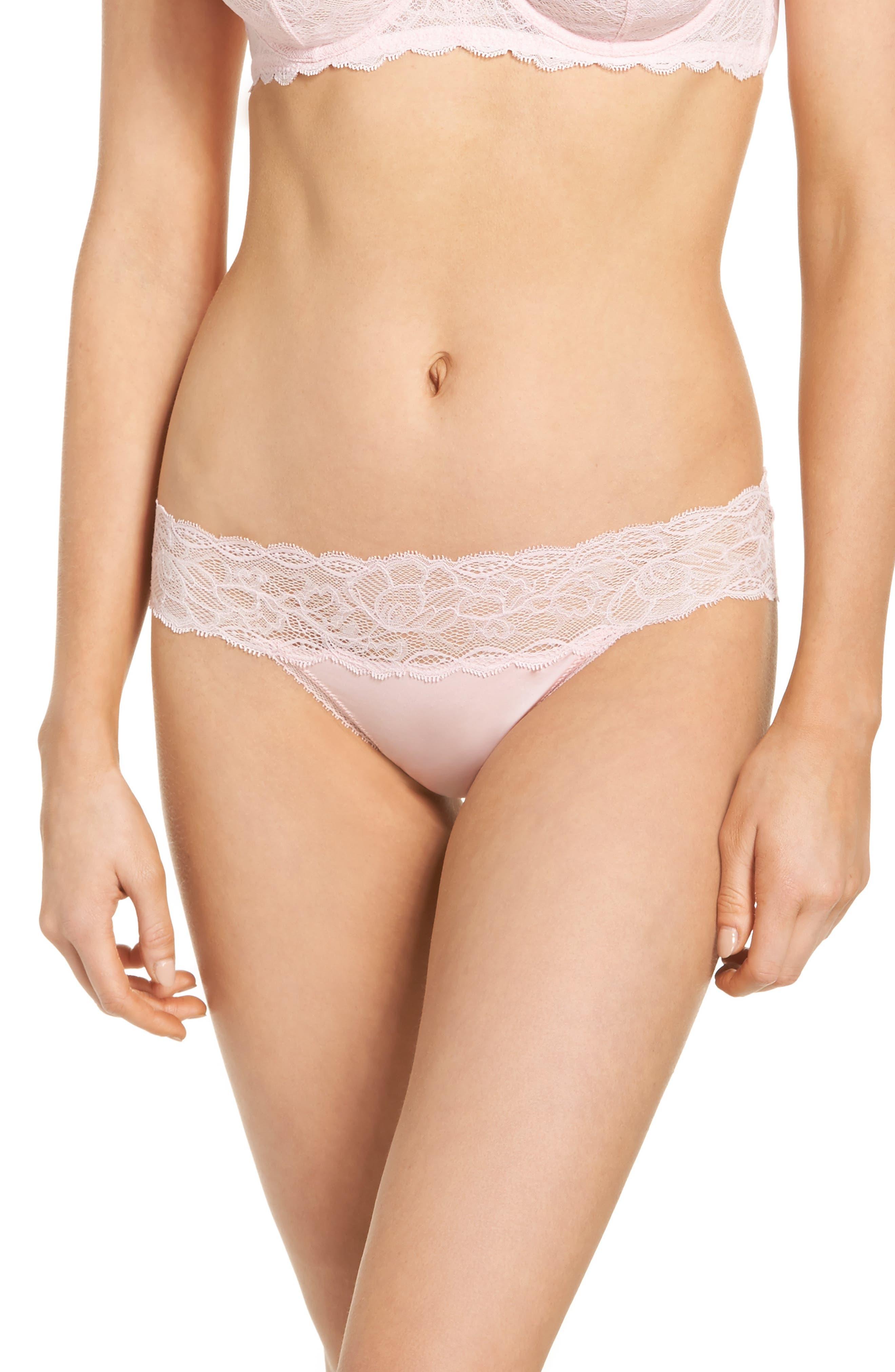 Seductive Comfort Lace Bikini,                             Main thumbnail 1, color,                             Attract