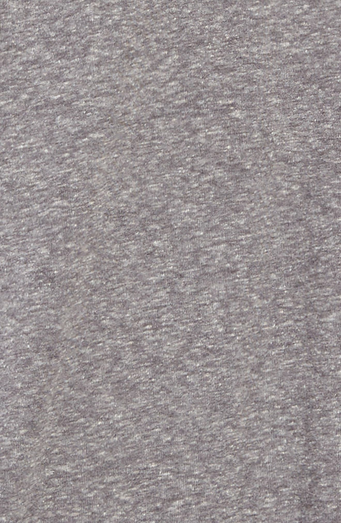 Knit Popover Dress,                             Alternate thumbnail 3, color,                             Grey Medium Heather