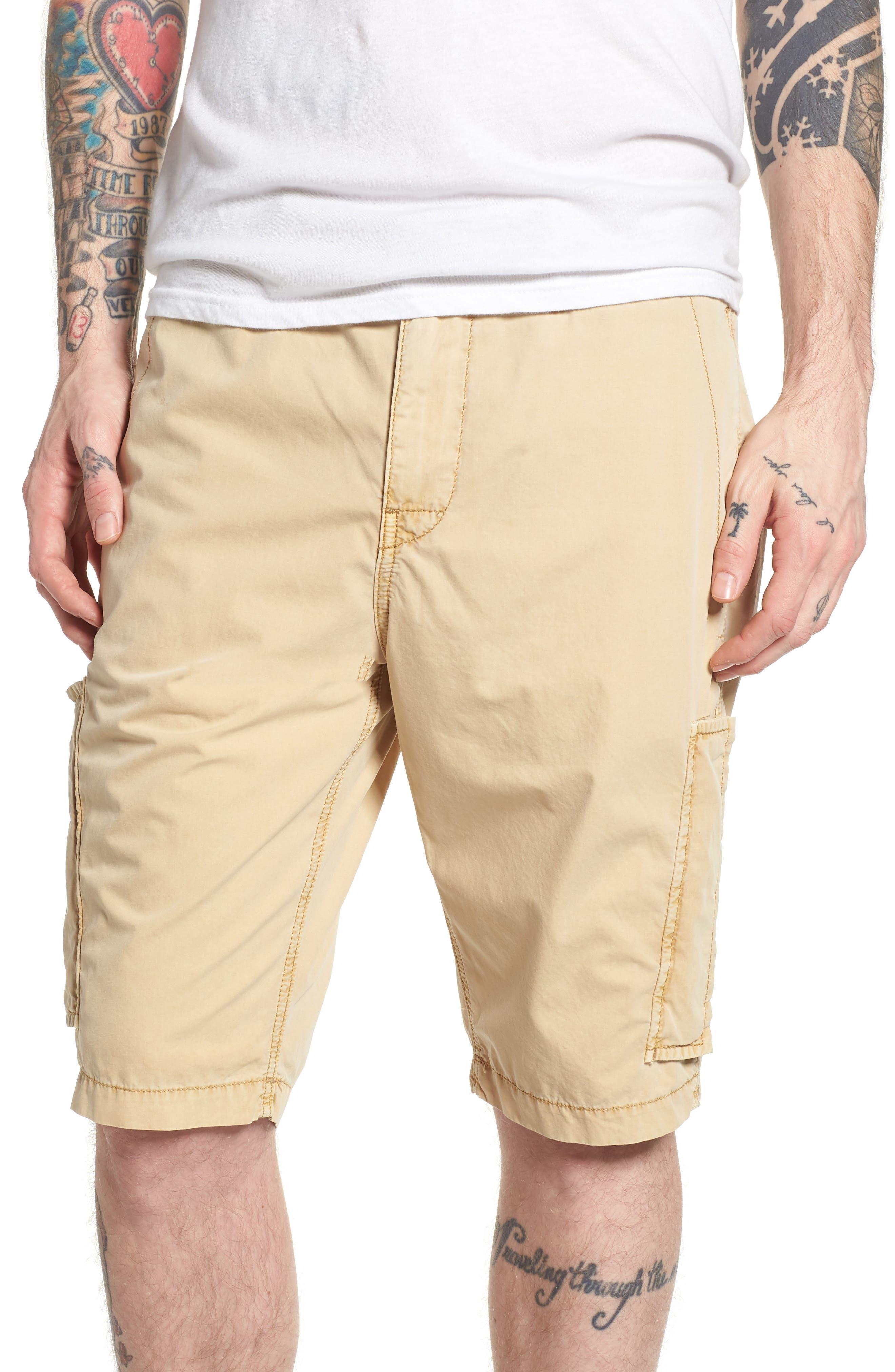 Alternate Image 1 Selected - True Religion Brand Jeans Officer Field Shorts