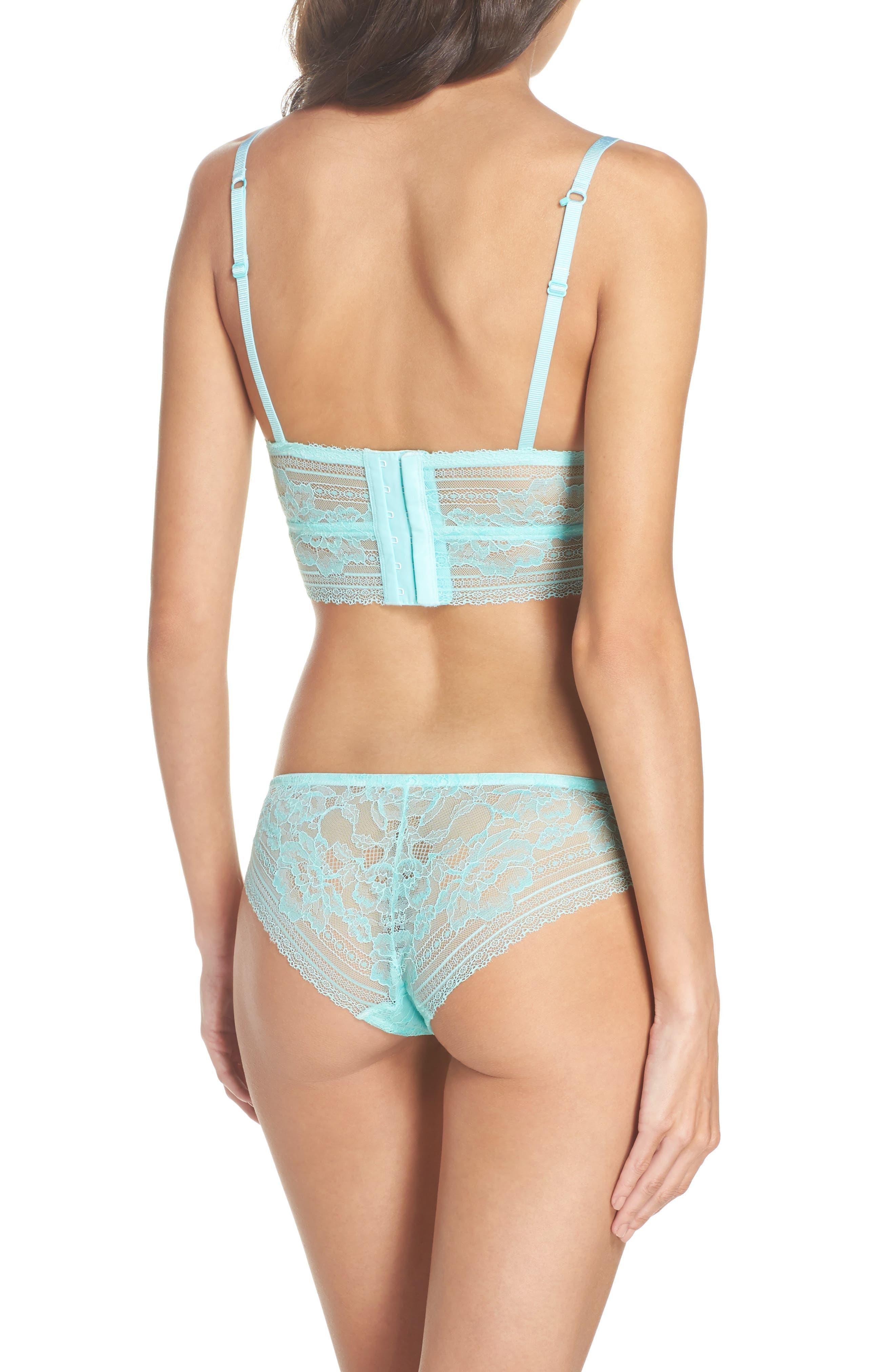 Intimately FP Sorento Lace Bikini,                             Alternate thumbnail 6, color,                             Mint