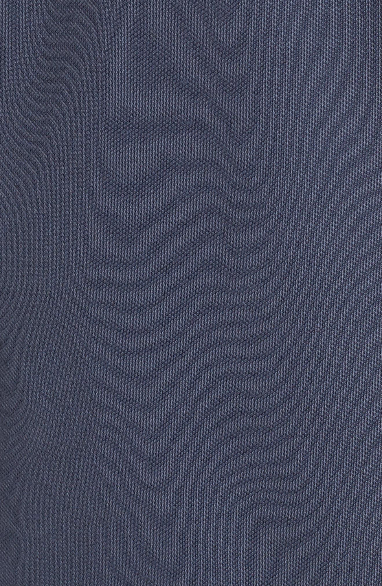 Nike Dry SB Rugby Polo,                             Alternate thumbnail 5, color,                             Thunder Blue/ White