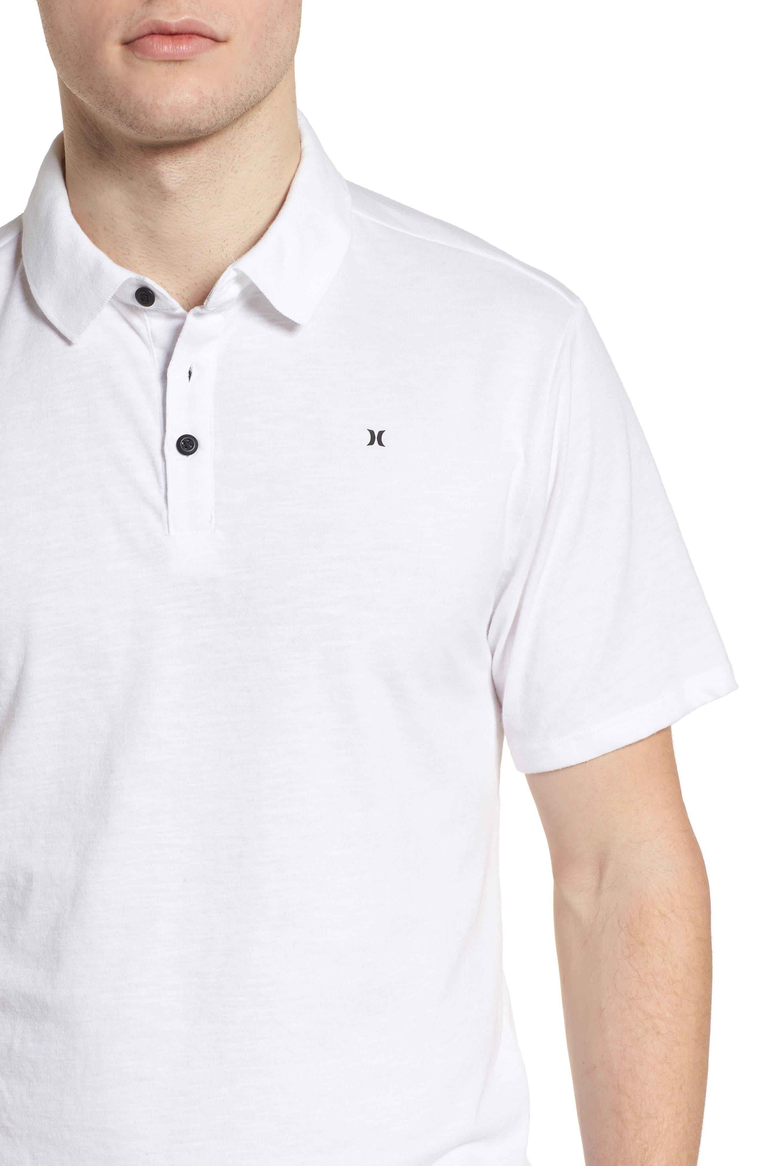 Dry Lagos Polo,                             Alternate thumbnail 4, color,                             White