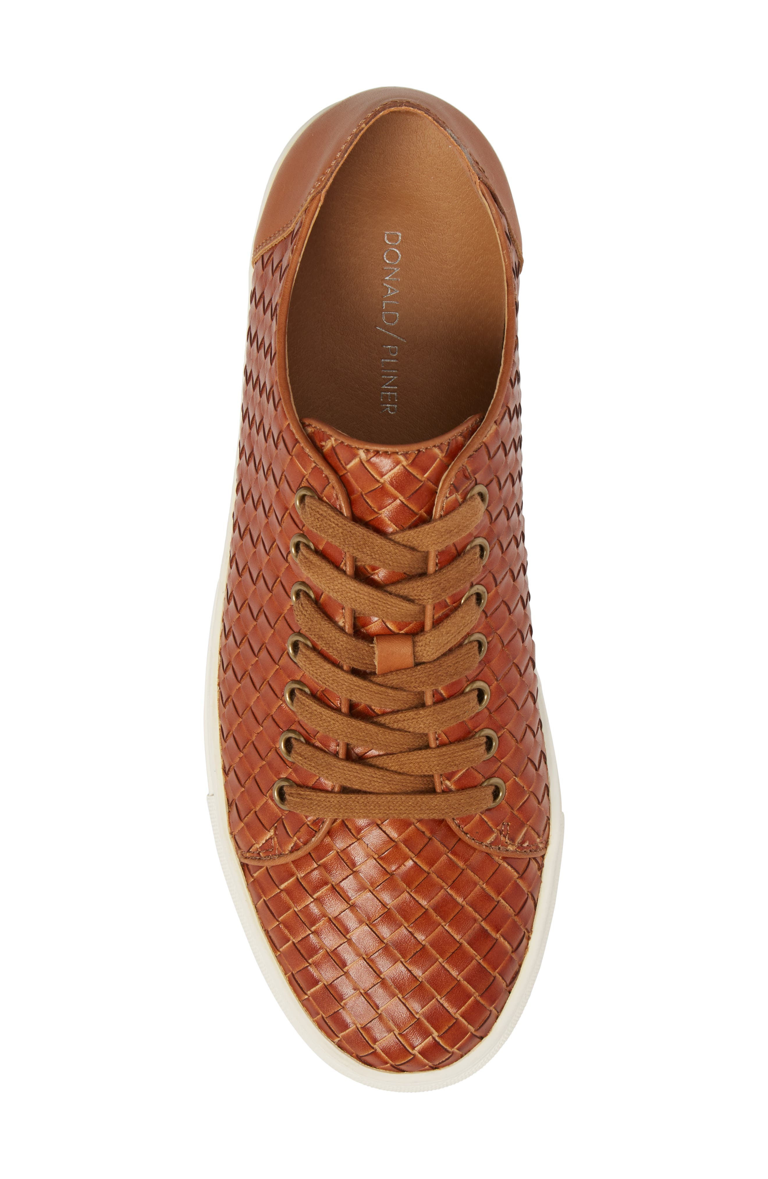 Alto Woven Low Top Sneaker,                             Alternate thumbnail 5, color,                             Saddle Leather