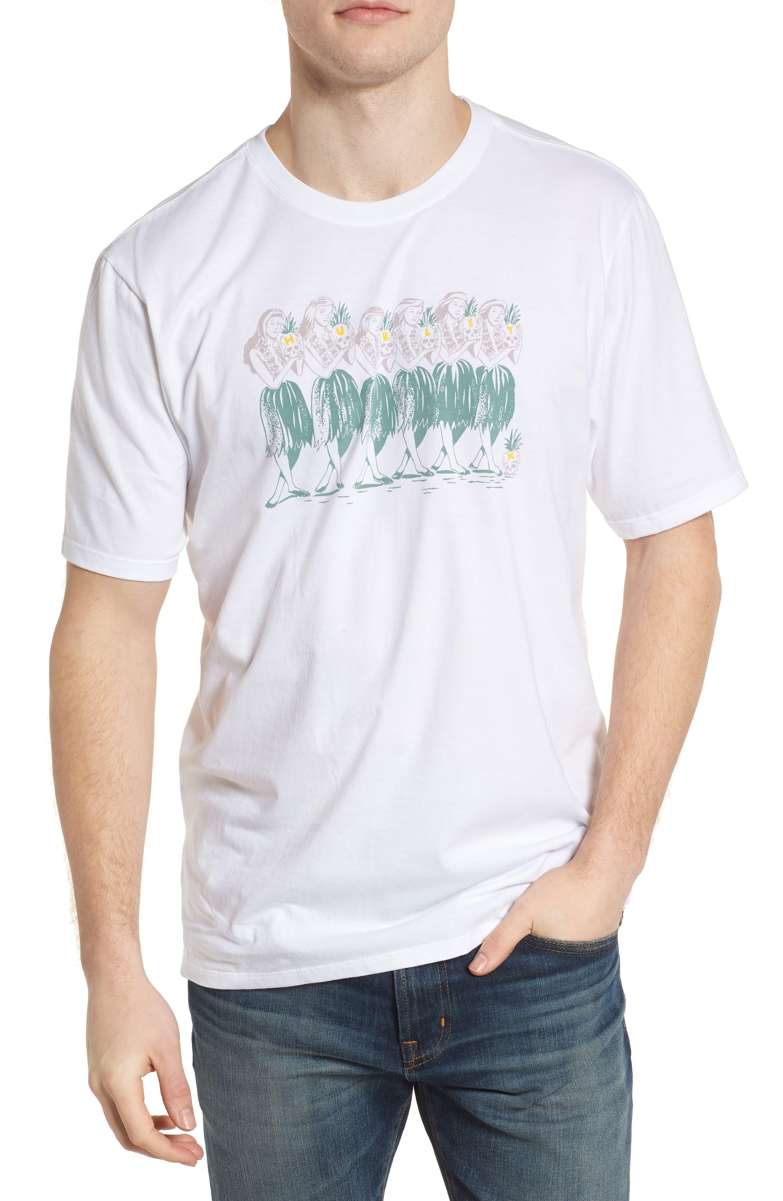 Hula T-Shirt,                             Main thumbnail 1, color,                             White