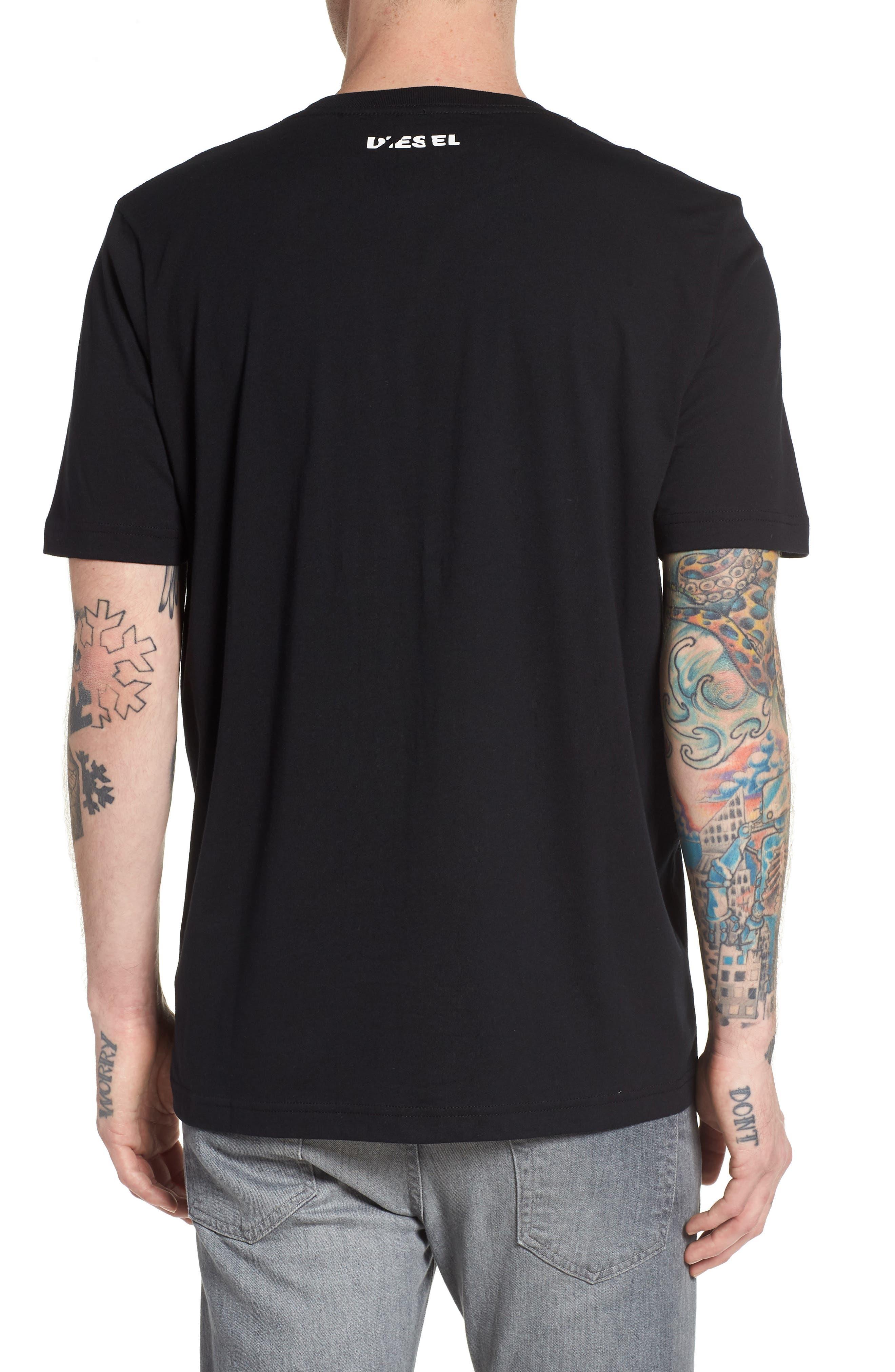 T-Just-SE T-Shirt,                             Alternate thumbnail 2, color,                             Black