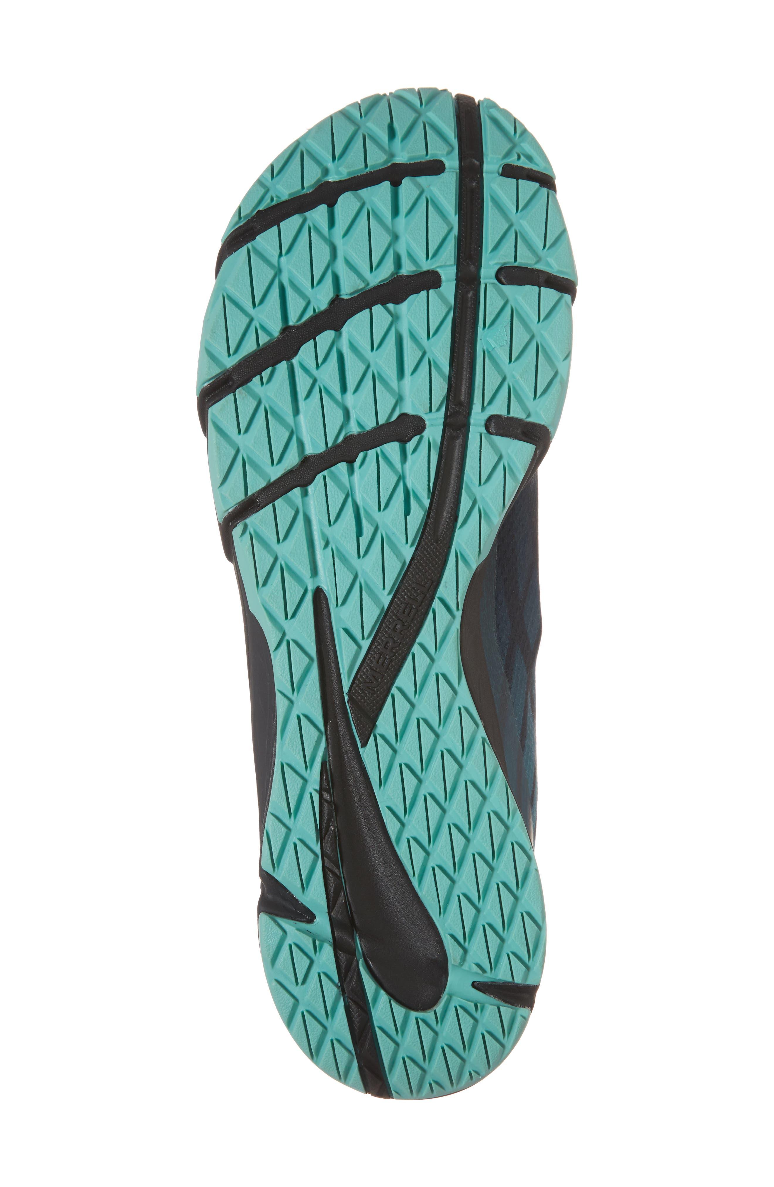 Bare Access Flex Running Shoe,                             Alternate thumbnail 6, color,                             Legion Blue