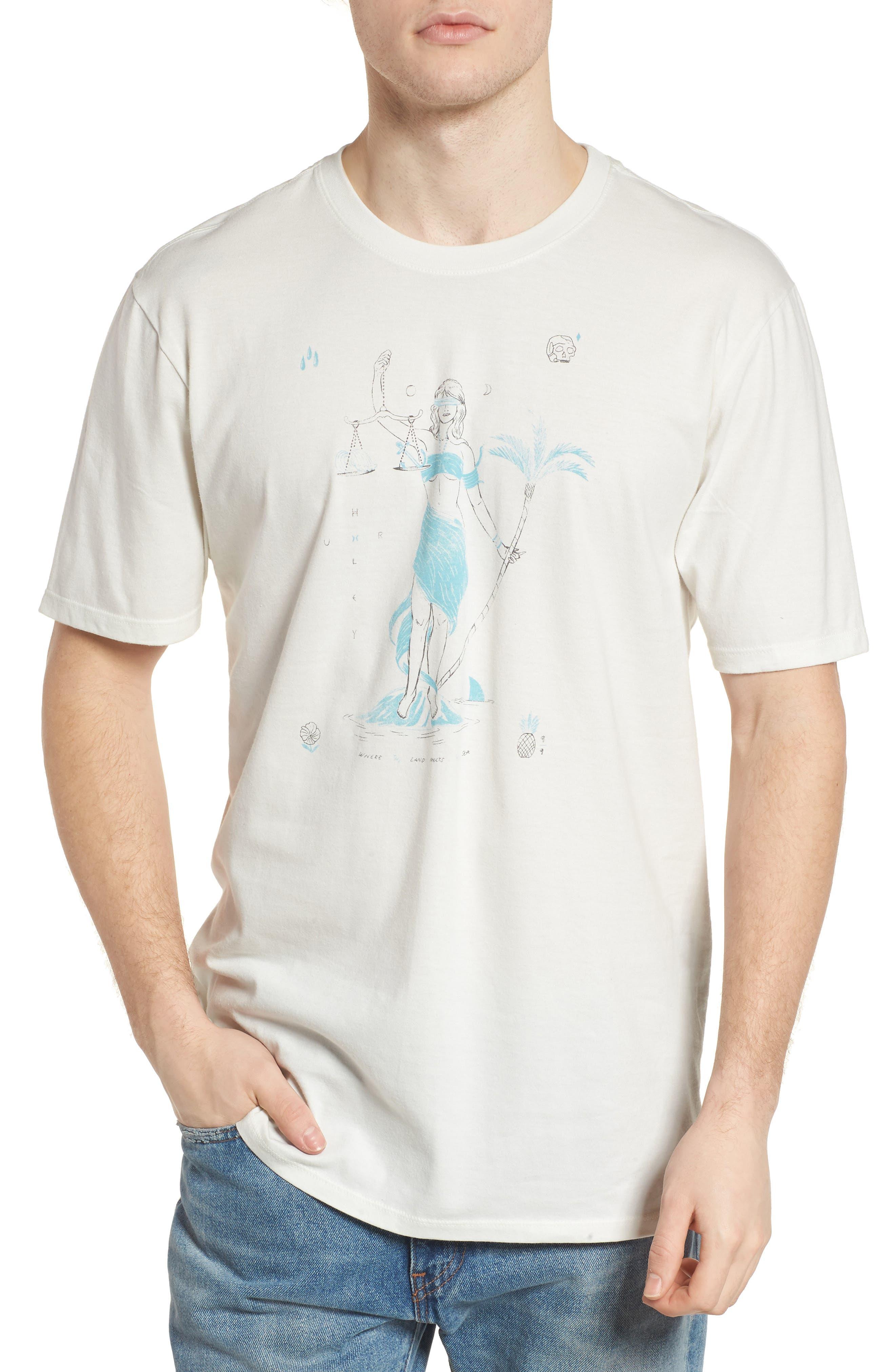 Siren T-Shirt,                         Main,                         color, Sail
