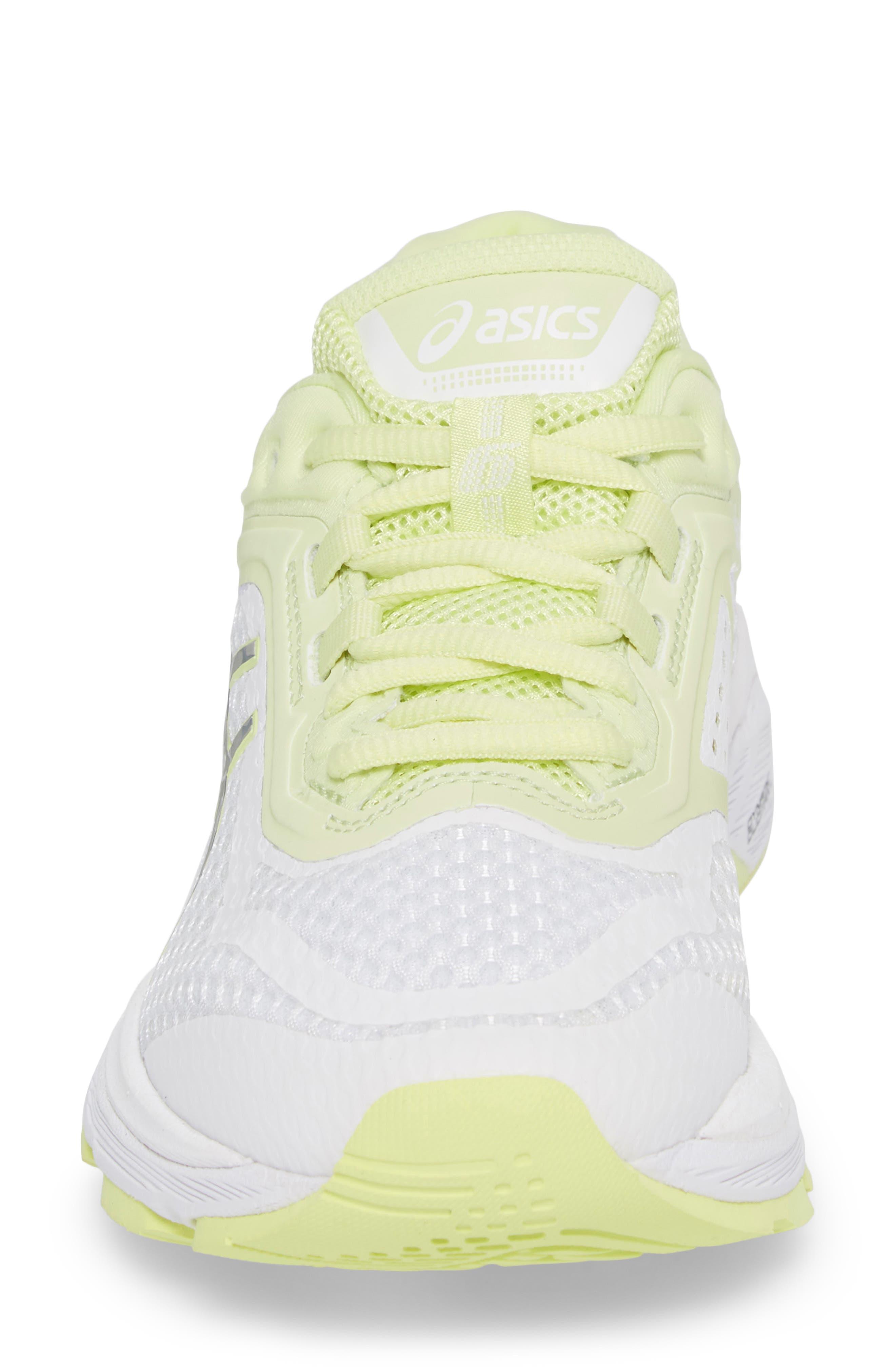 GT-2000 6 Running Shoe,                             Alternate thumbnail 4, color,                             White/ Silver/ Limelight