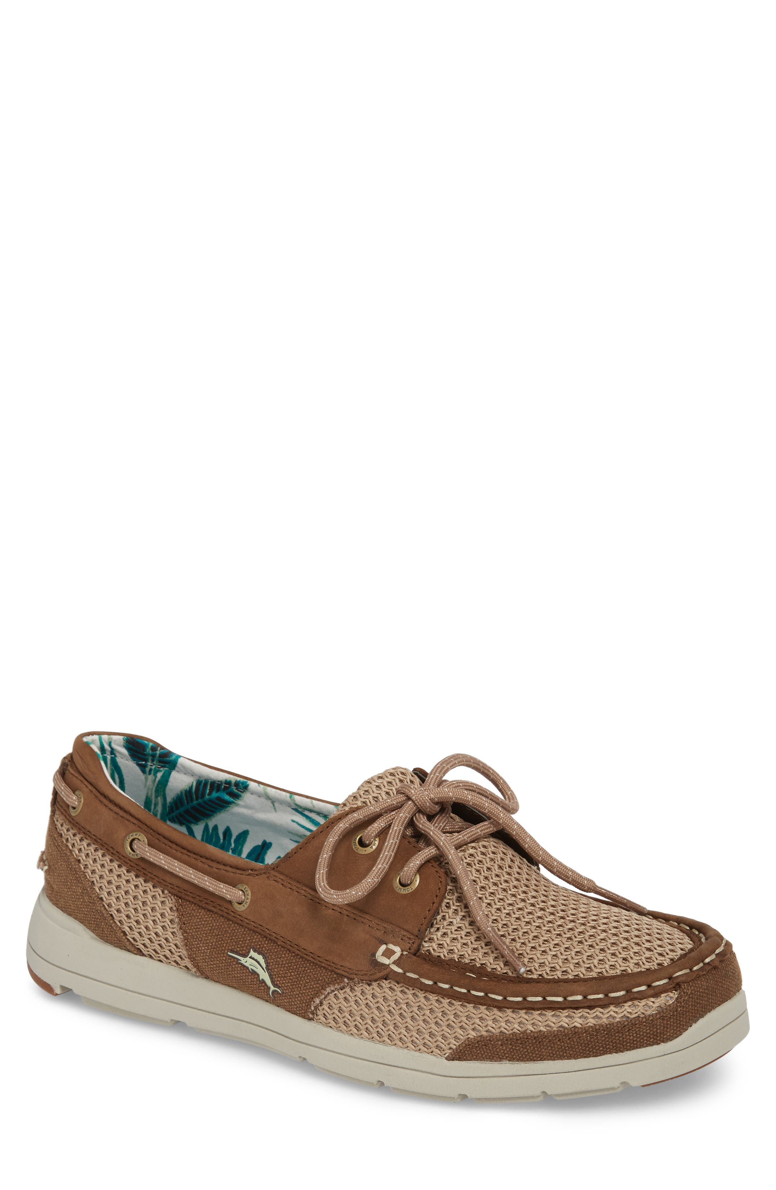 Tommy Bahama On Par Woven Boat Shoe (Men)