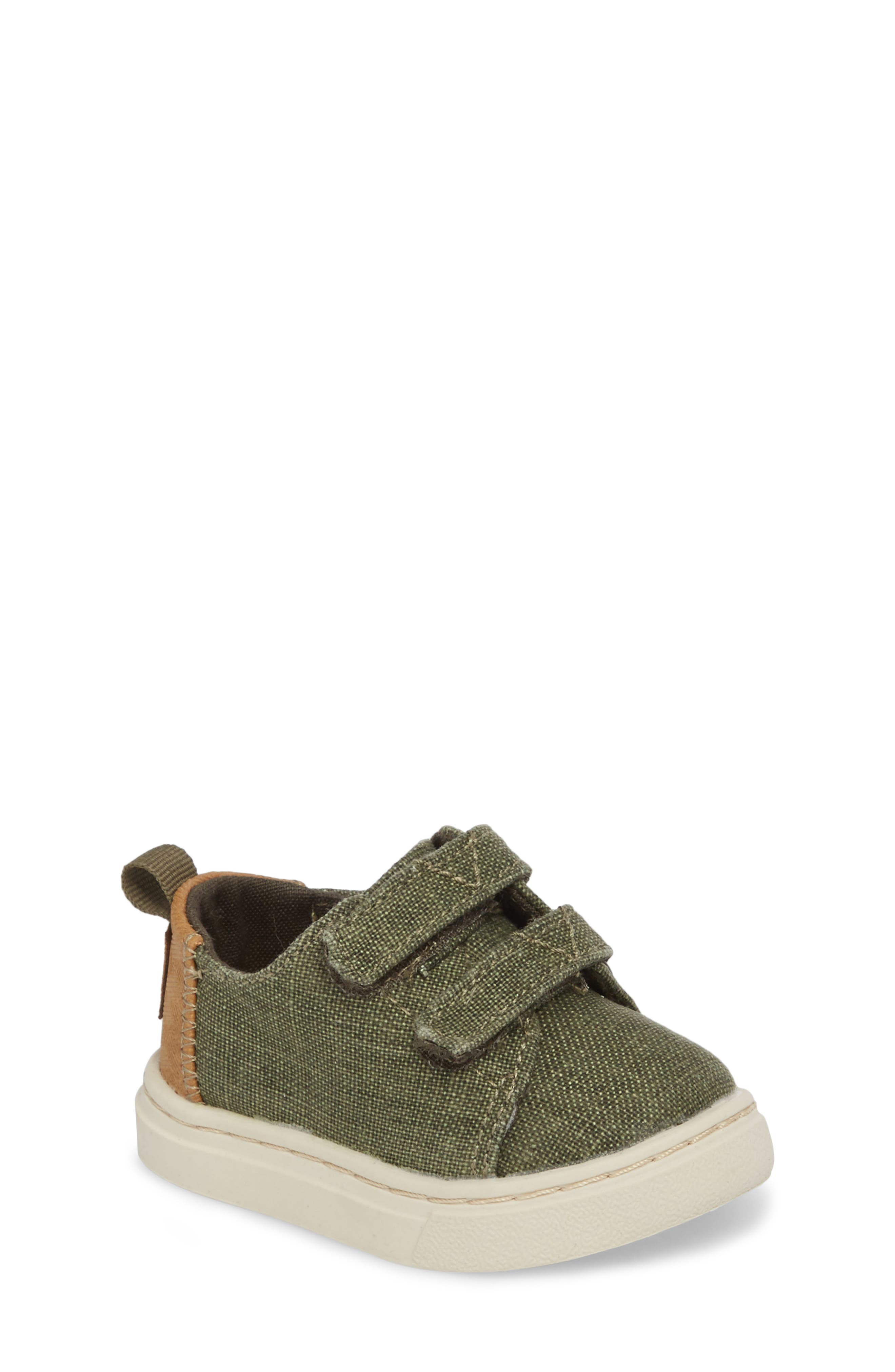 TOMS Lenny Sneaker (Baby, Walker & Toddler)