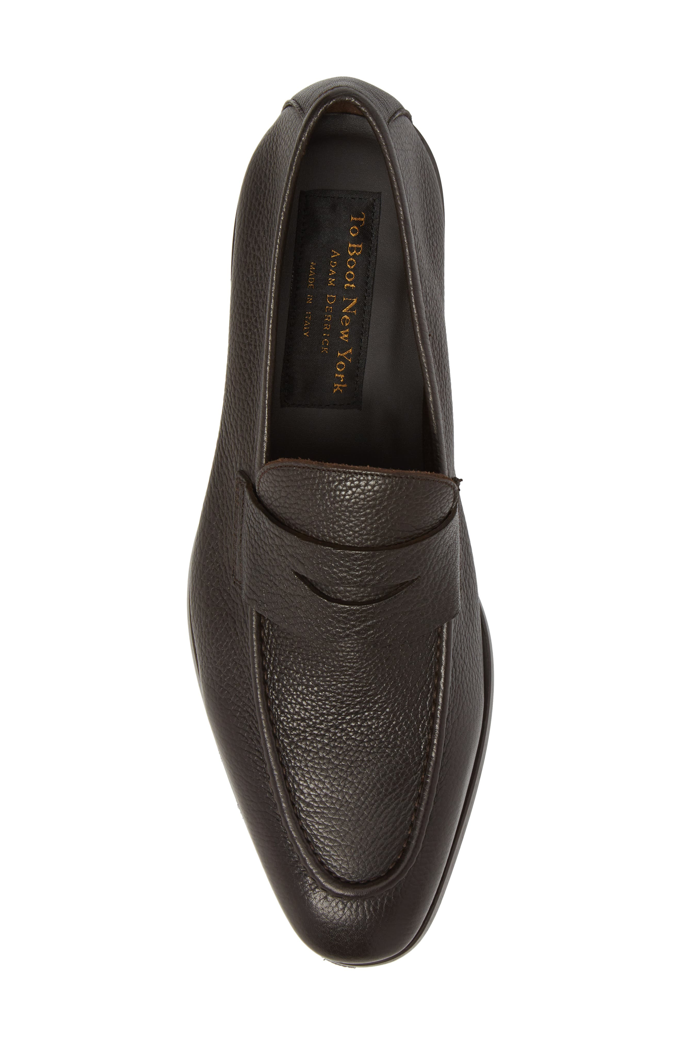 Johnson Penny Loafer,                             Alternate thumbnail 5, color,                             Tmoro Leather