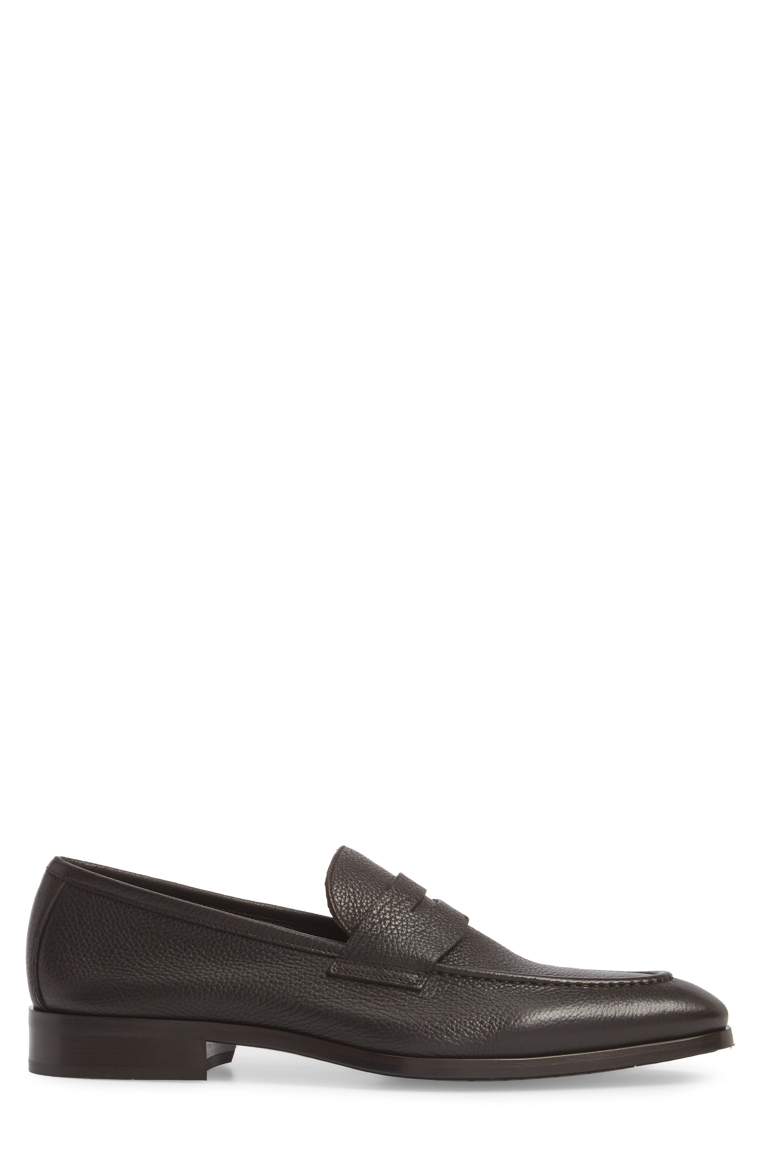 Johnson Penny Loafer,                             Alternate thumbnail 3, color,                             Tmoro Leather