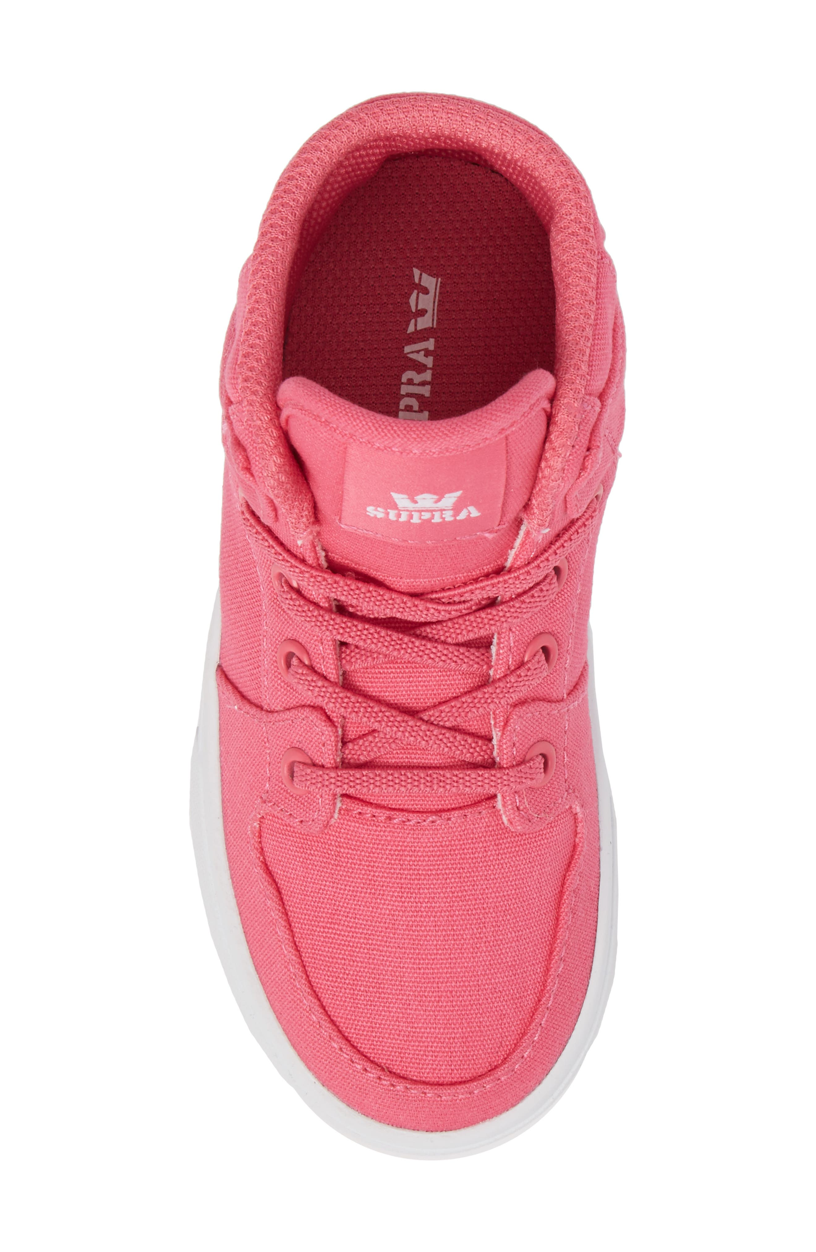 'Vaider' High Top Sneaker,                             Alternate thumbnail 5, color,                             Pink