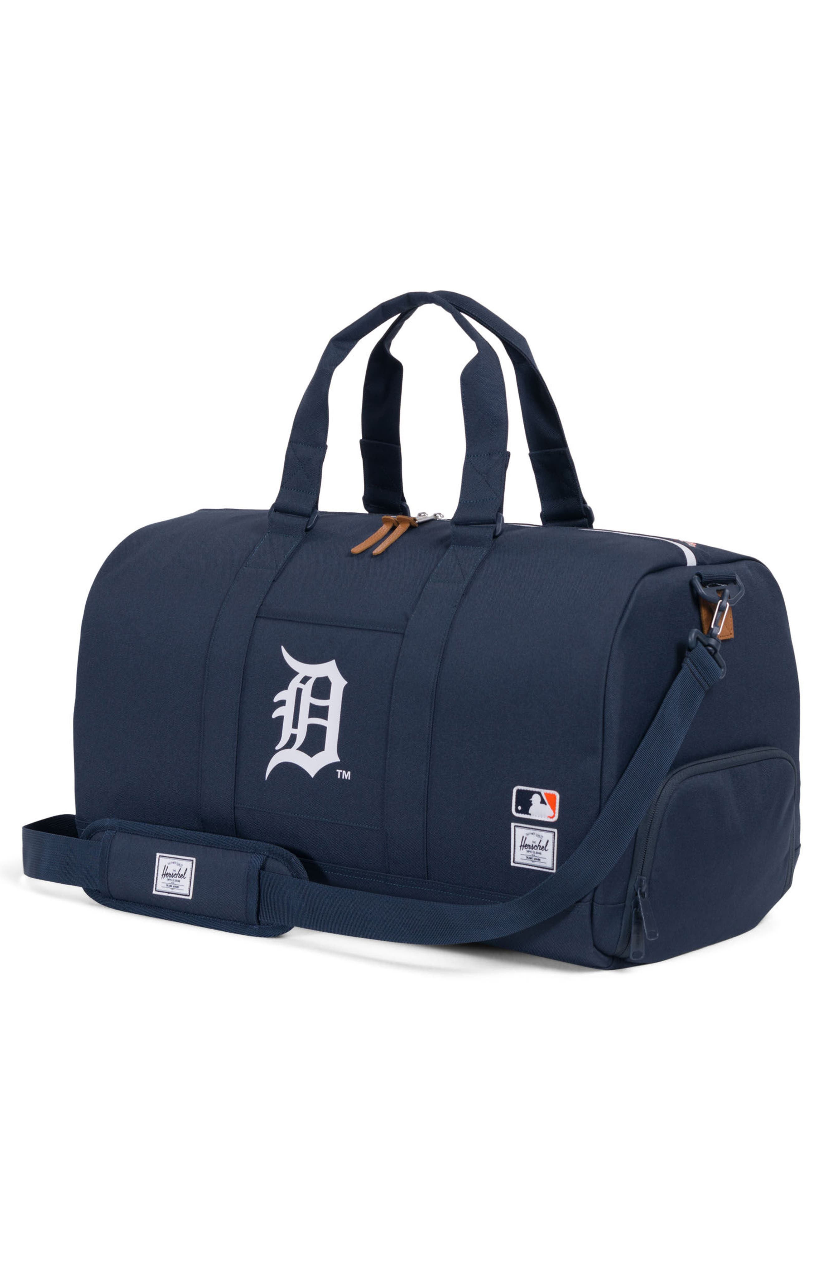 Novel - MLB American League Duffel Bag,                             Alternate thumbnail 2, color,                             Detroit Tigers