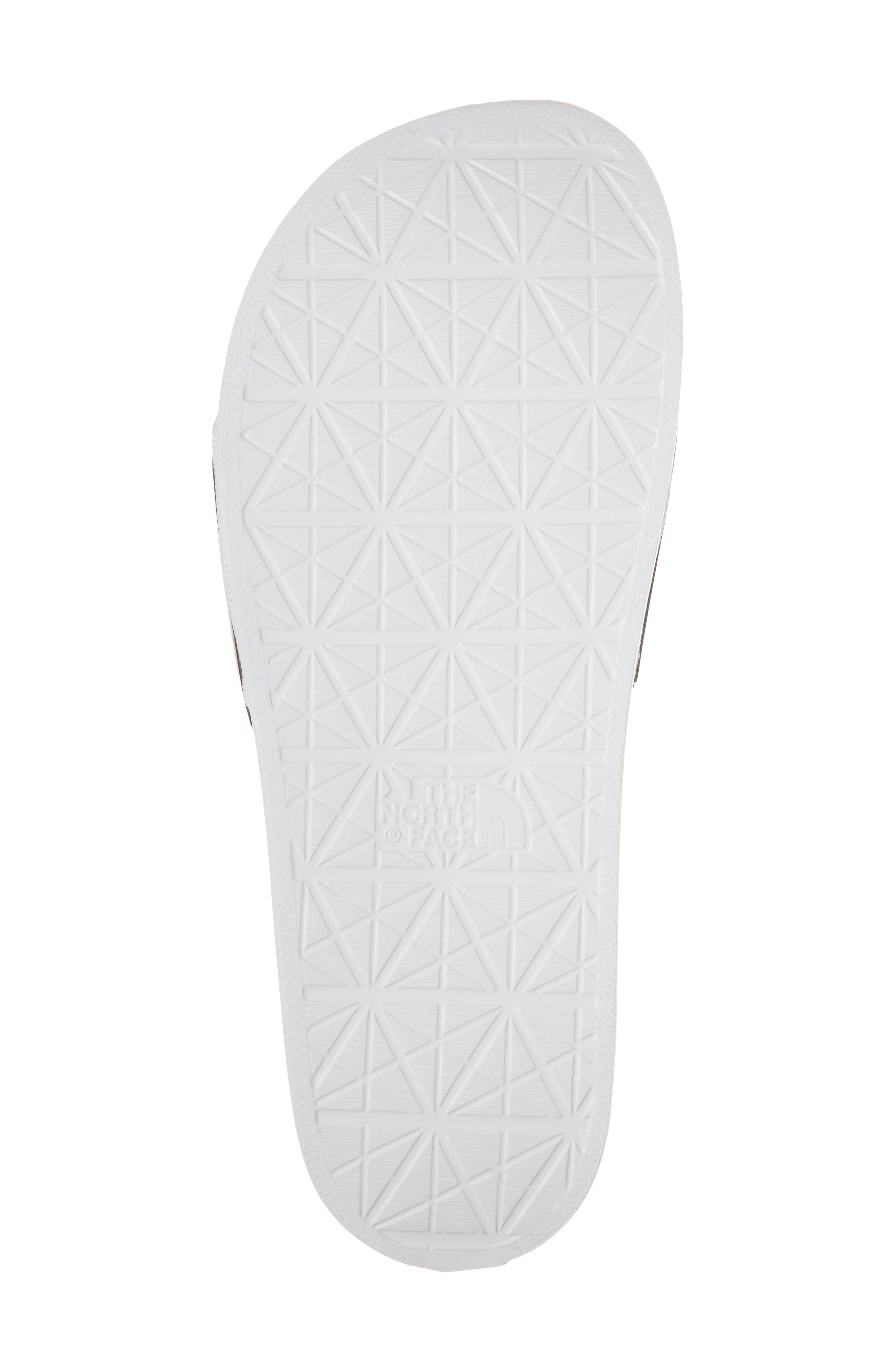 Base Camp II Slide Sandal,                             Alternate thumbnail 6, color,                             Tnf White/ Tnf Black