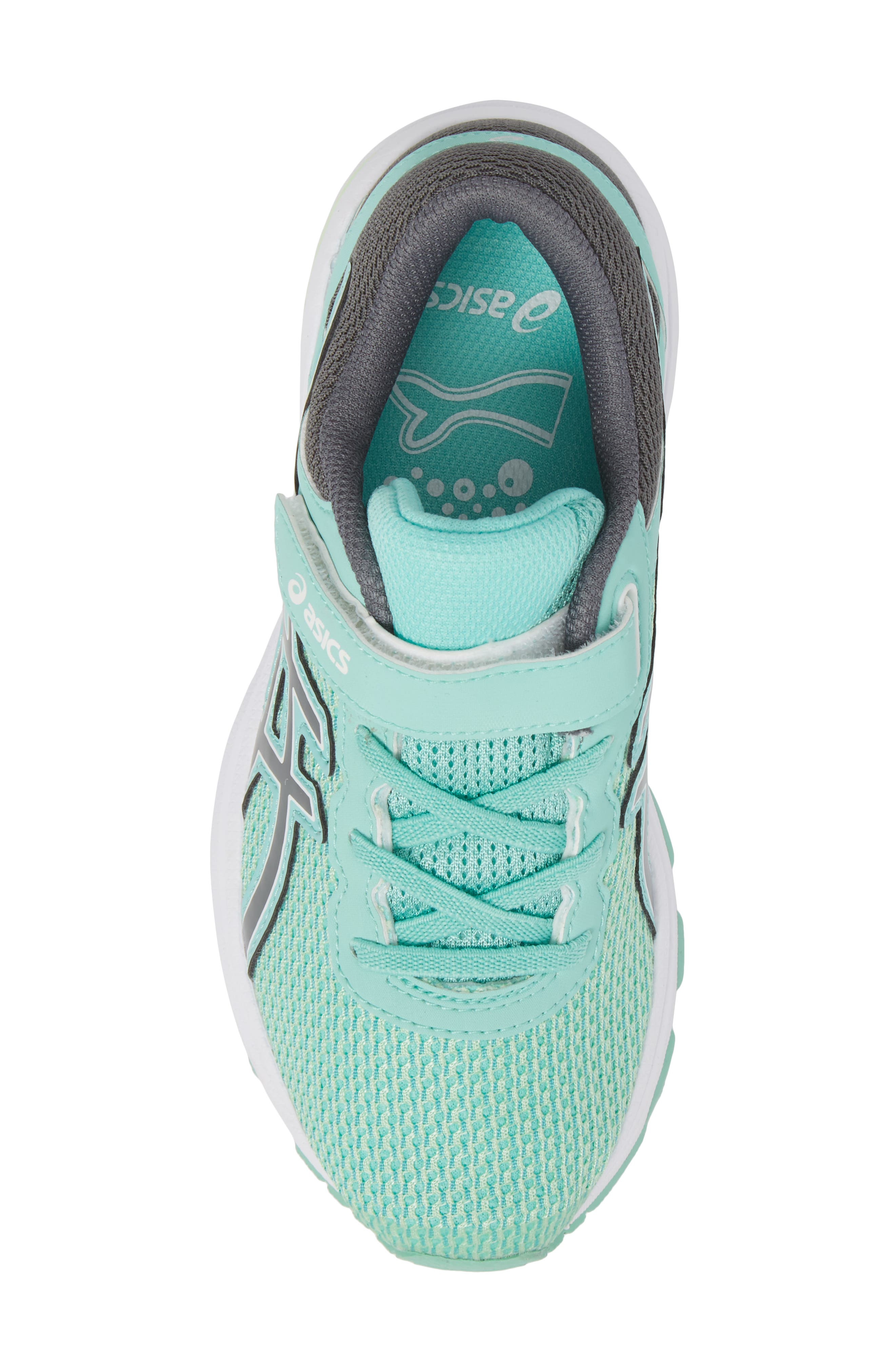 Asics GT-1000<sup>™</sup> 6 PS Sneaker,                             Alternate thumbnail 5, color,                             Carbon/ Opal Green