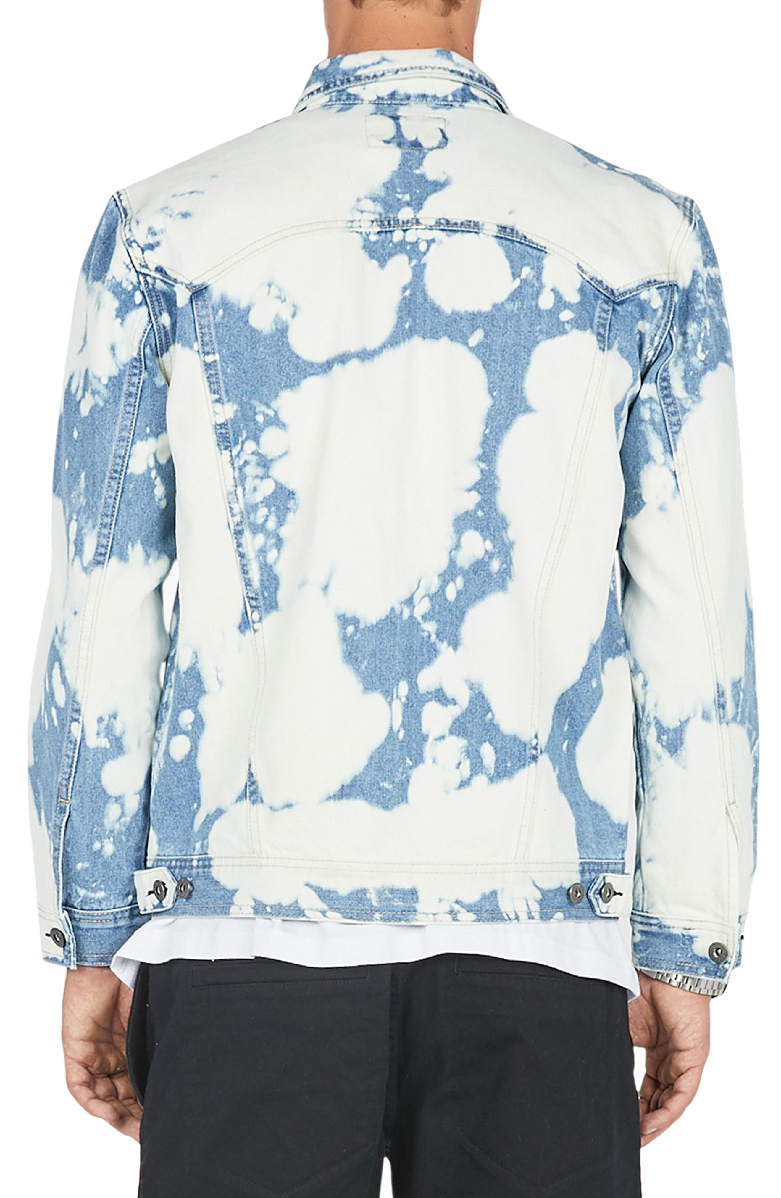 B. Rigid Denim Jacket,                             Alternate thumbnail 2, color,                             Bleached Blue