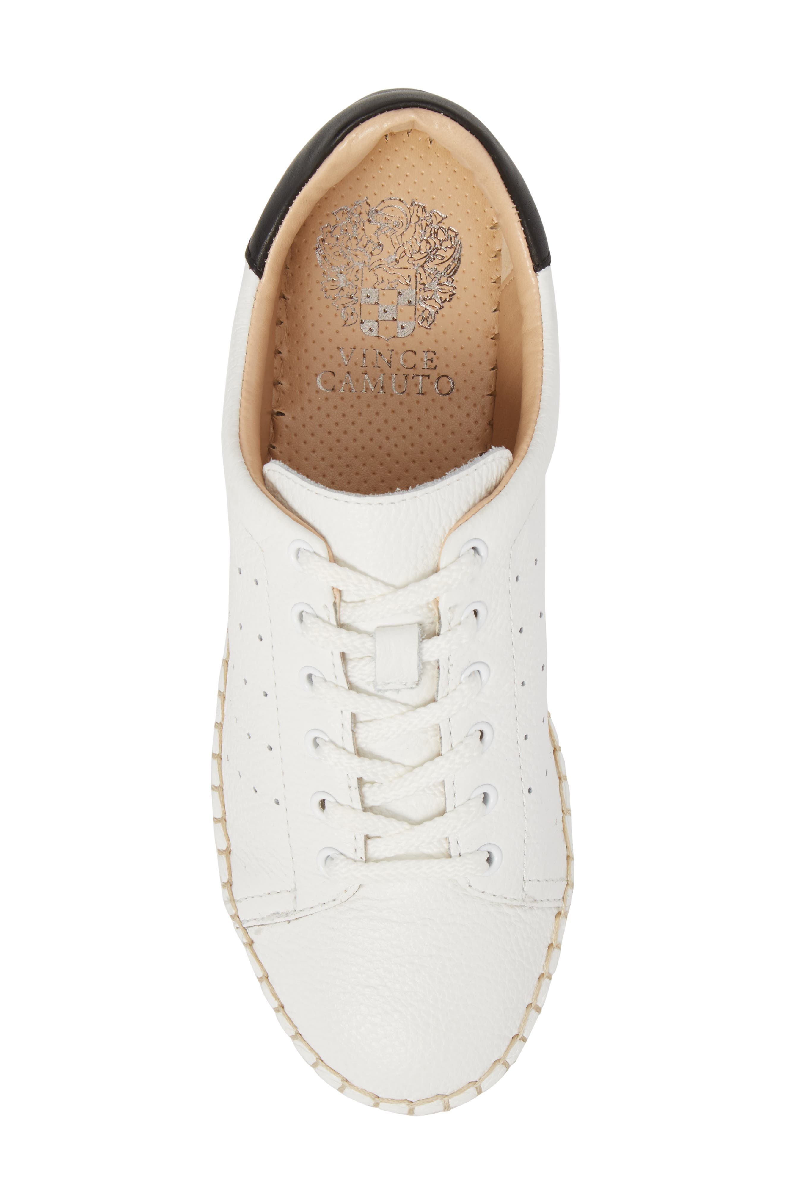 Jinnie Espadrille Sneaker,                             Alternate thumbnail 5, color,                             Picket Fence