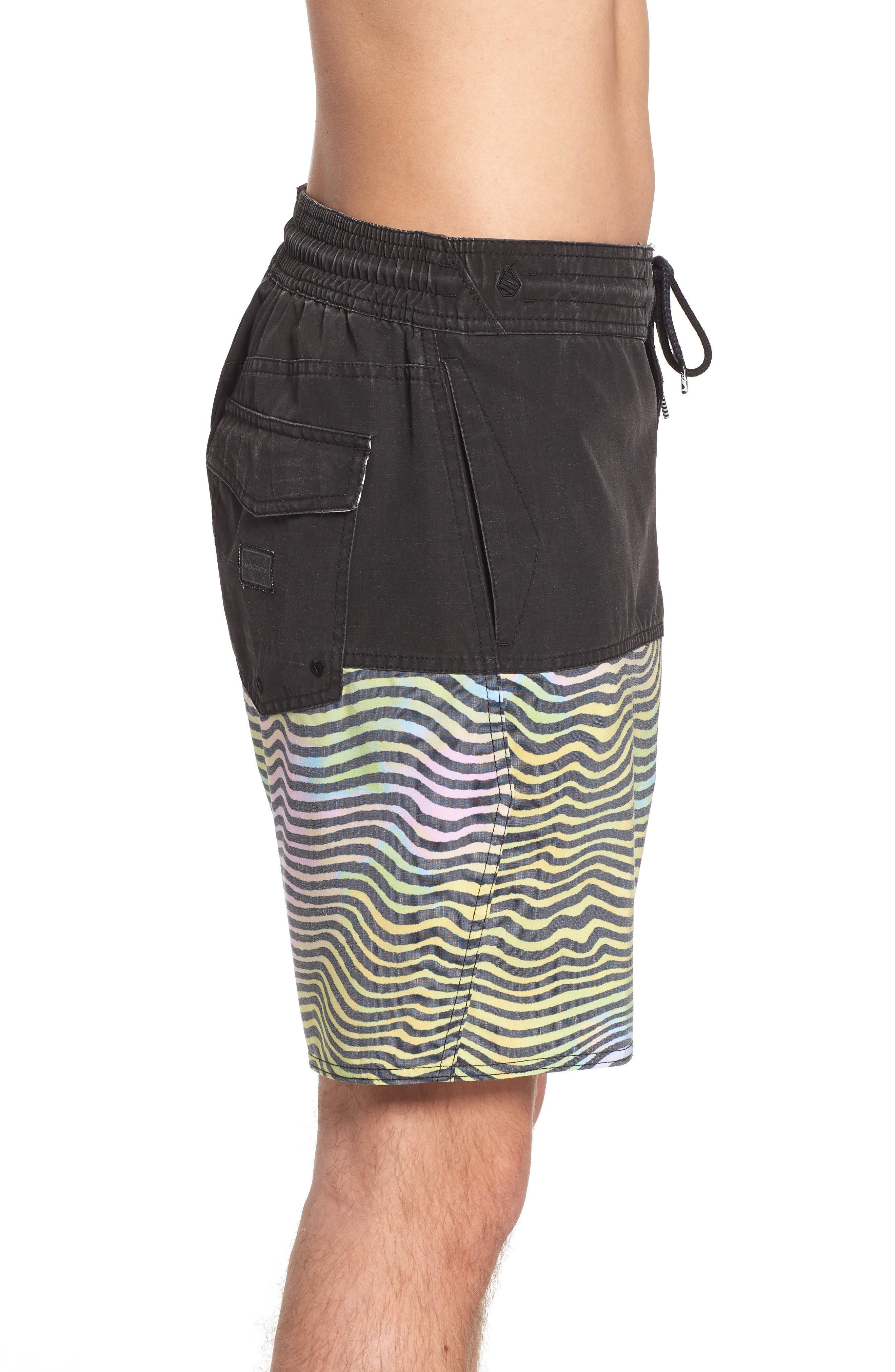 Vibes Half Stoney Board Shorts,                             Alternate thumbnail 3, color,                             Multi