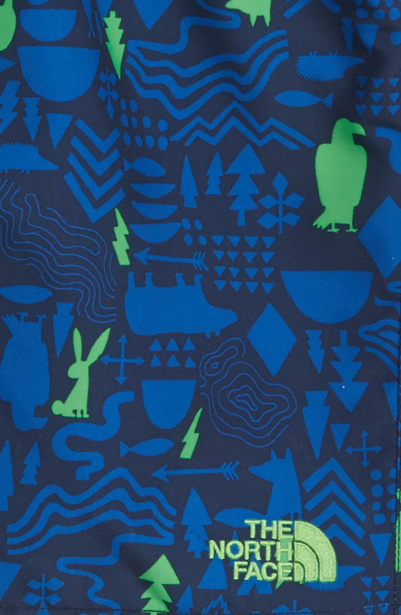Print Hike/Water Shorts,                             Alternate thumbnail 2, color,                             Cosmic Blue Critters Print