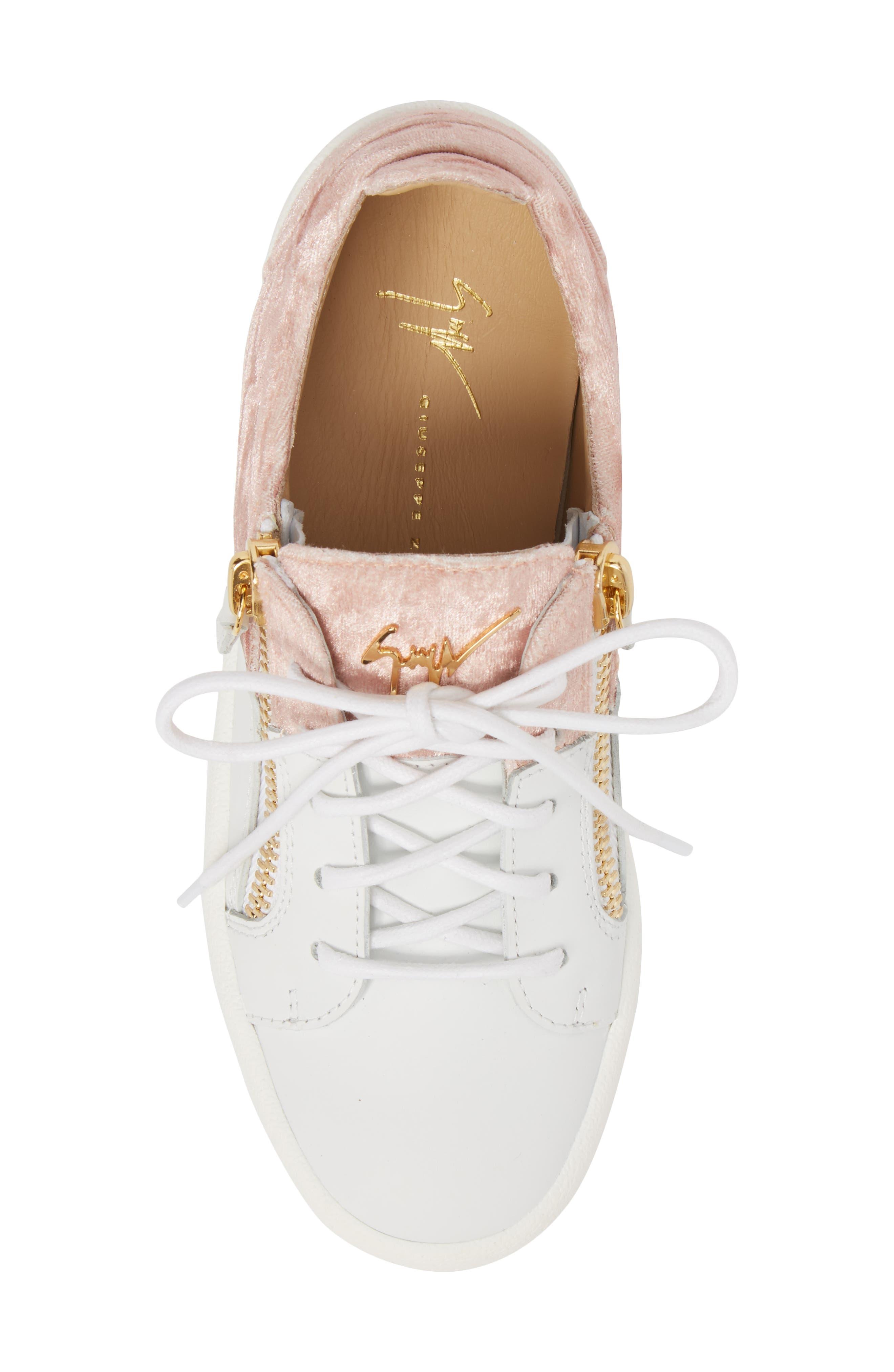 Alternate Image 5  - Giuseppe Zanotti Mid Top Platform Sneaker (Women)