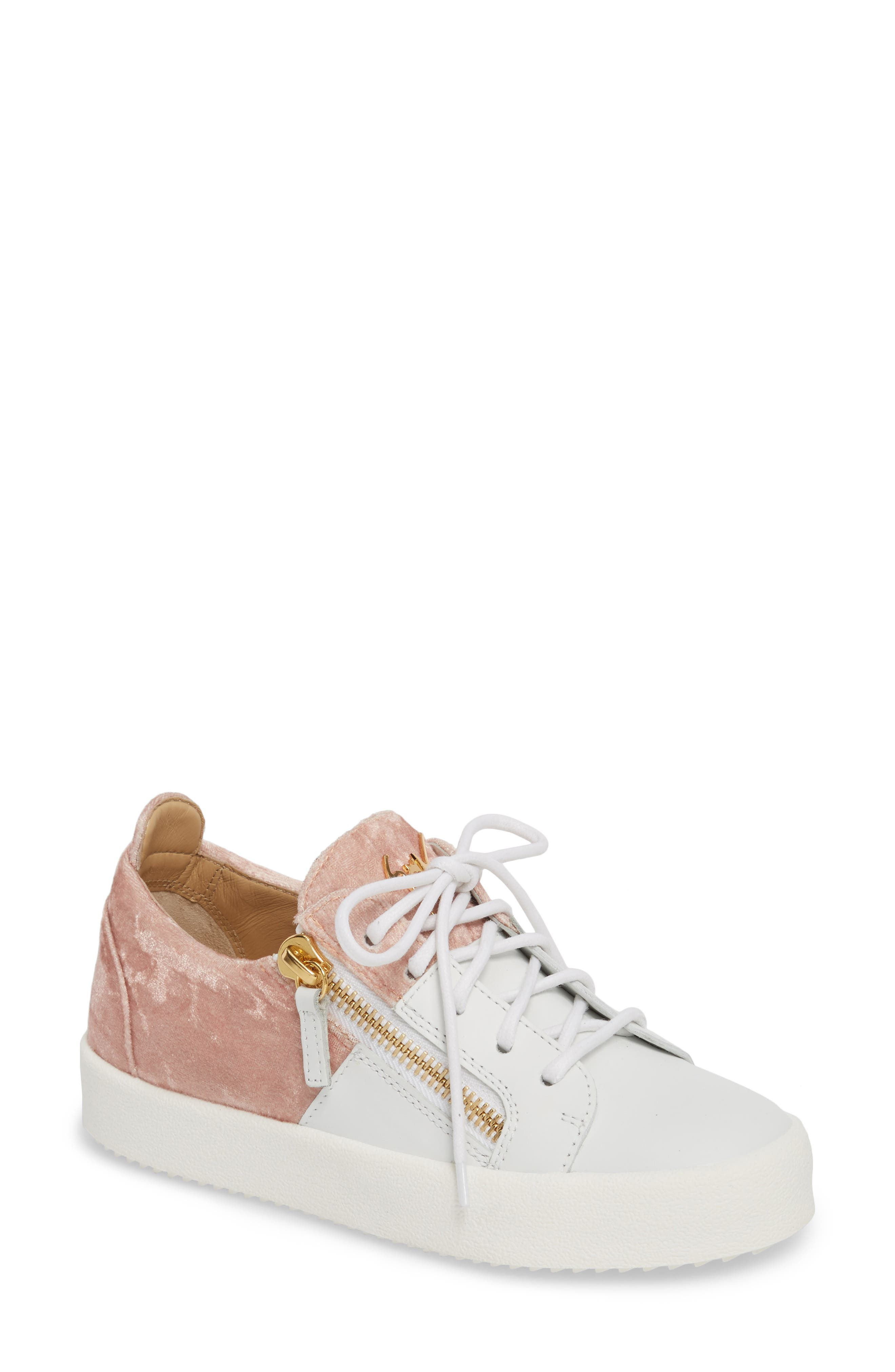 Alternate Image 1 Selected - Giuseppe Zanotti Mid Top Platform Sneaker (Women)